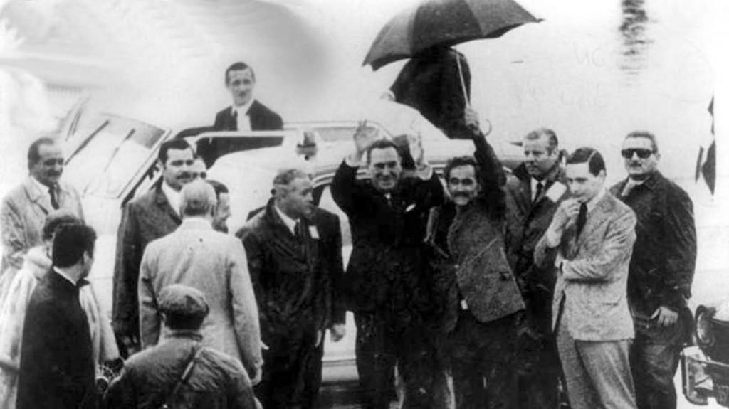 Masacre de ezeiza- 20 junio 1973-Rregreso Juan Domingo Peron-Jose Rucci
