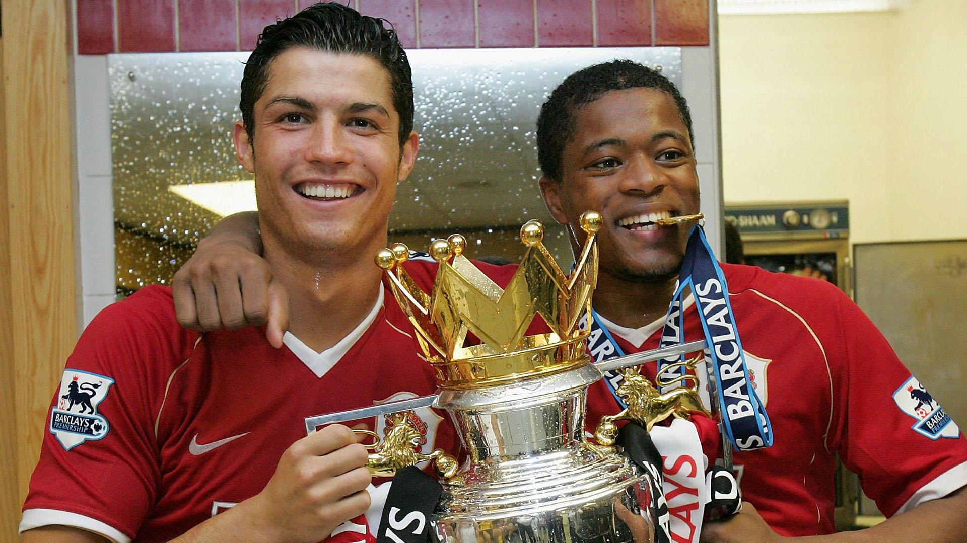 Patrice Evra y Cristiano Ronaldo compartieron años exitosos en el Manchester United