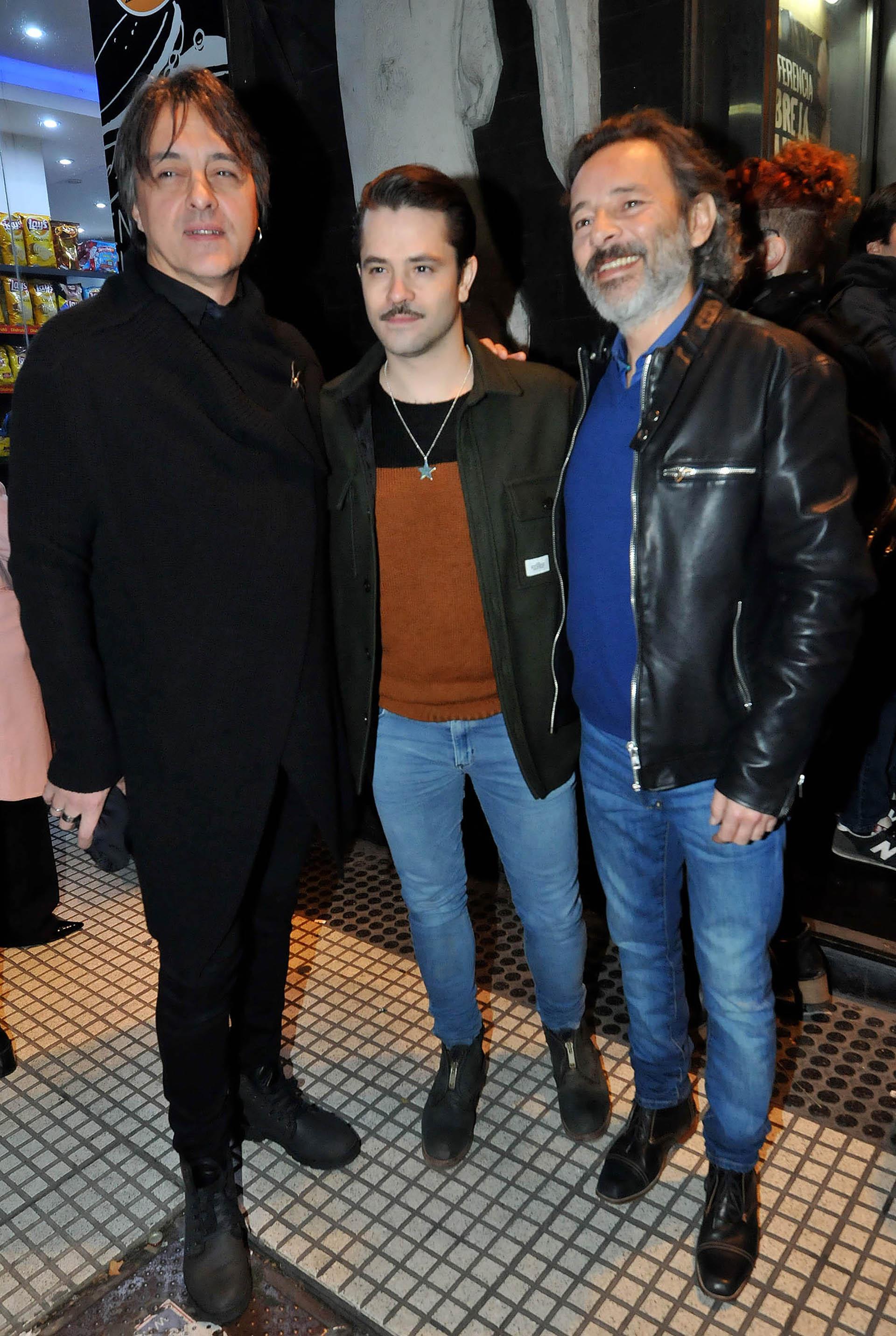 Esteban Prol, Felipe Colombo y Fabián Vena