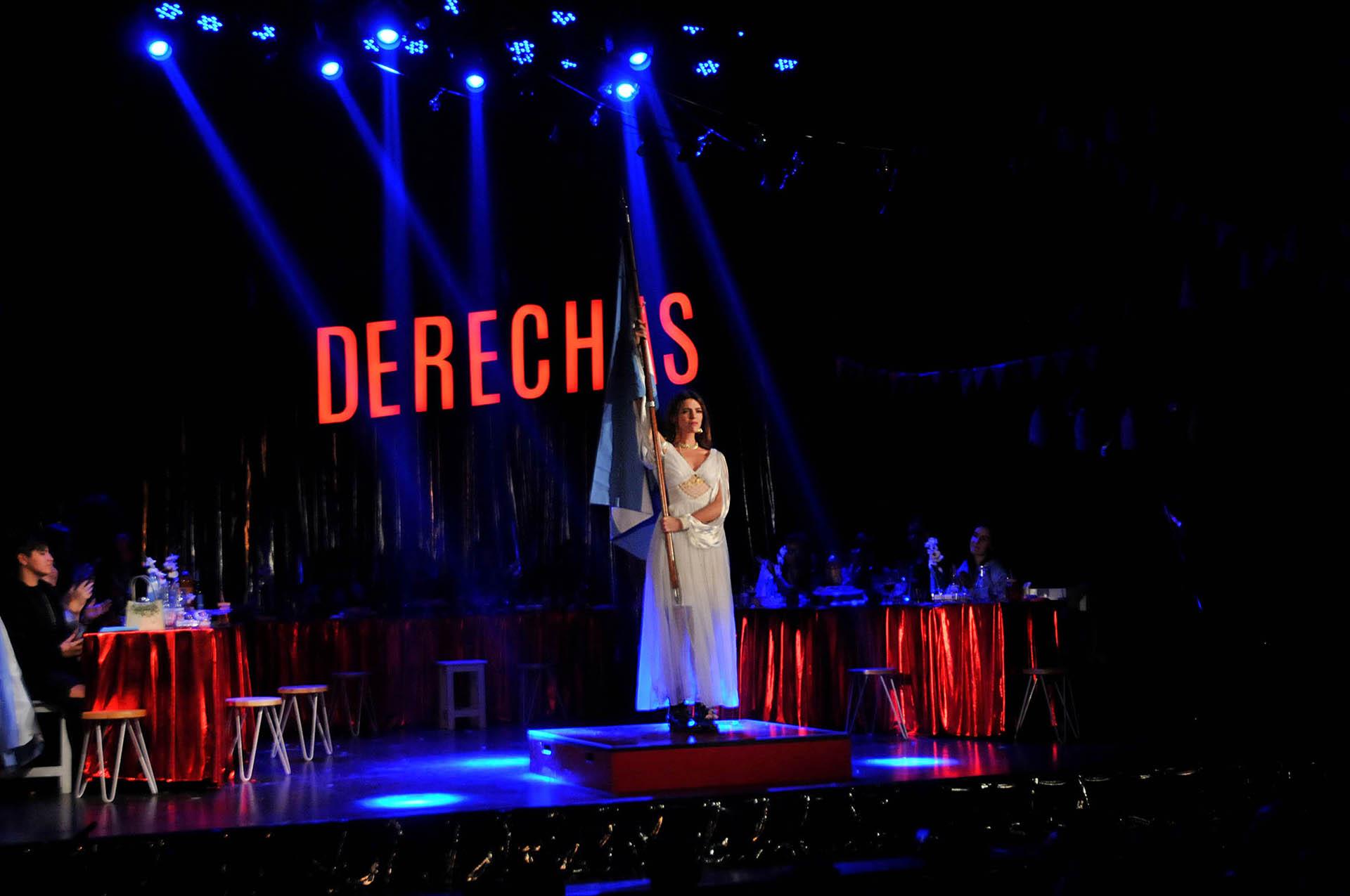 La obra se estrenó en el teatro Regina y muchos famosos fueron a verla
