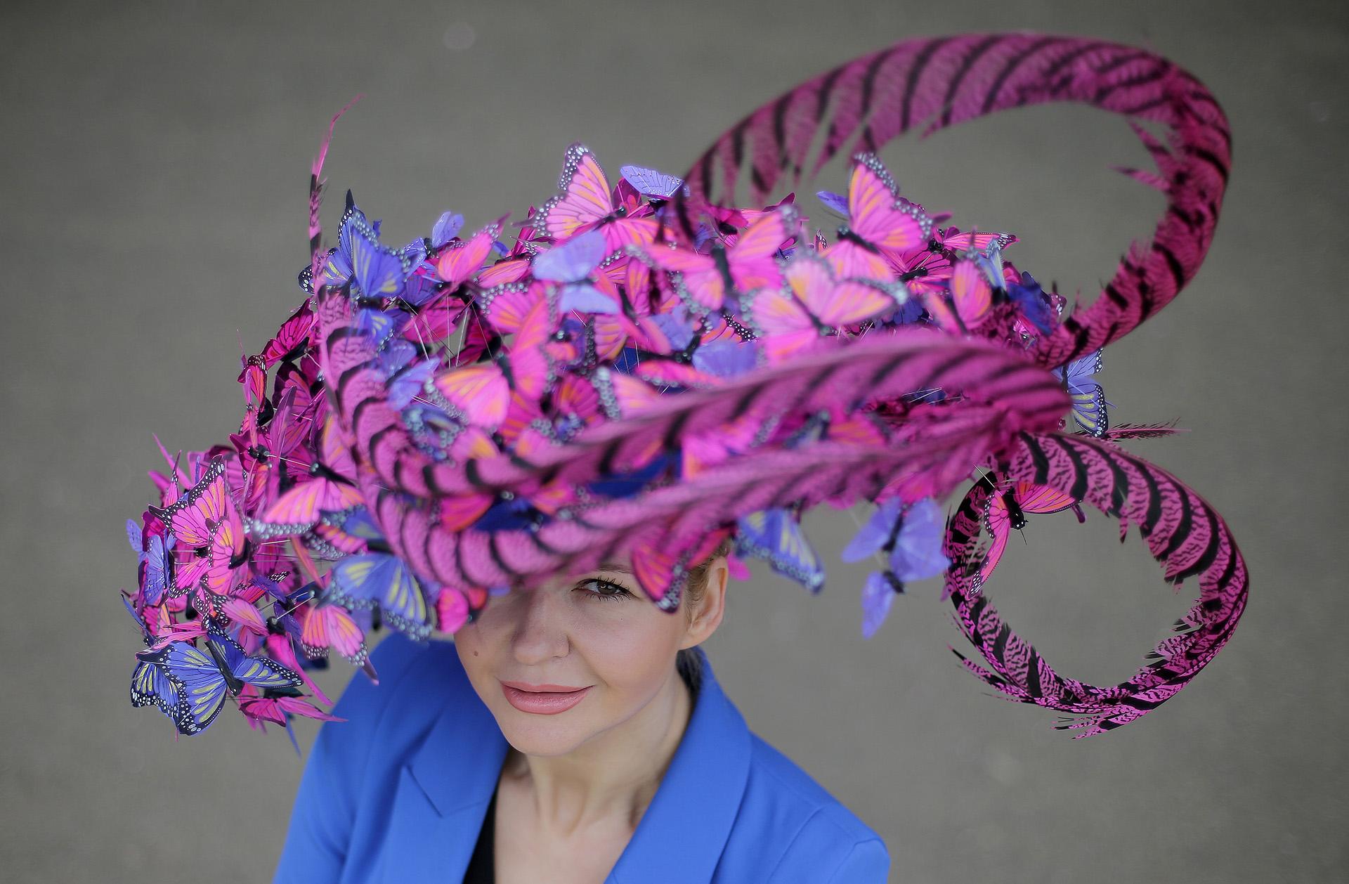 Royal Ascot 2018, la pasarela de sombreros más extravagante - Infobae