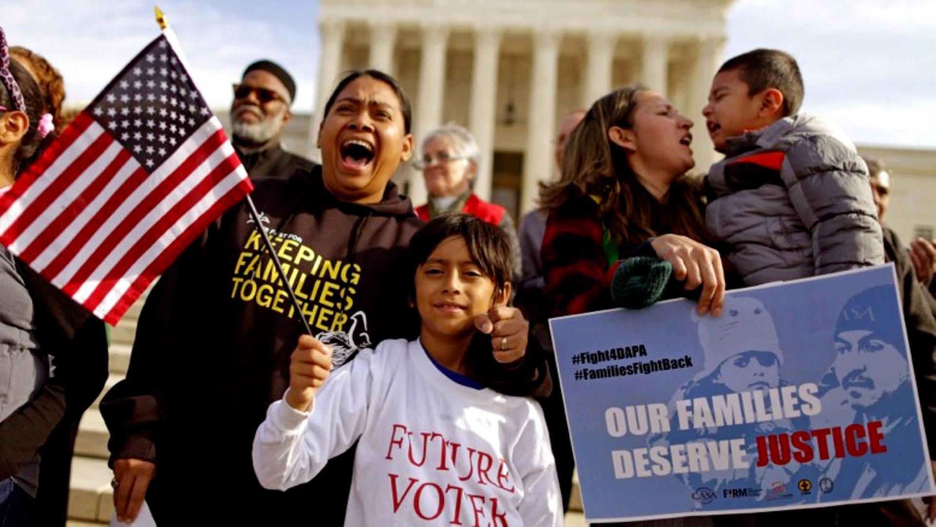 Inmigrantes en EEUU.