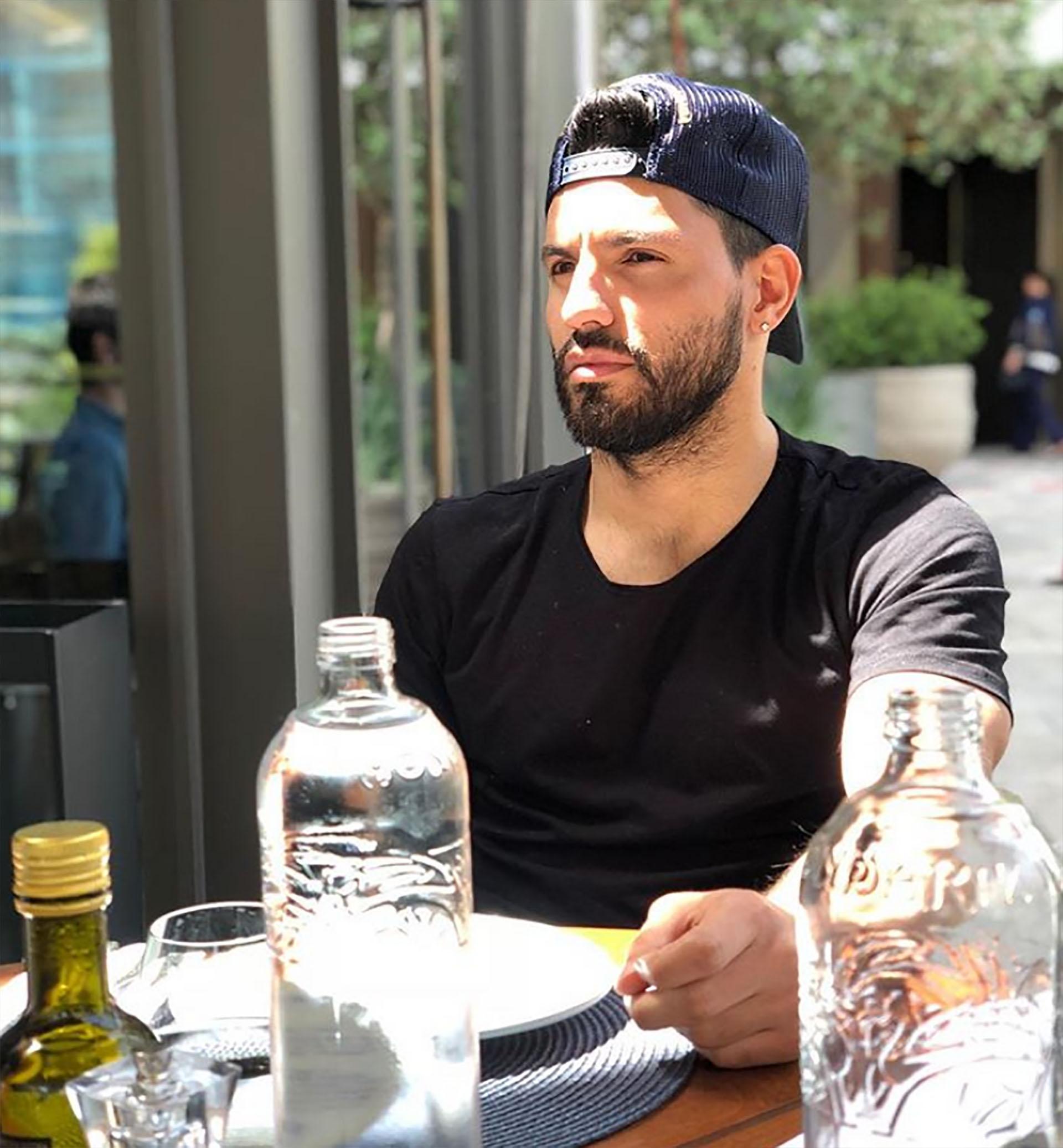 Sergio Agüero, Argentina, 30 años, soltero (Instagram)