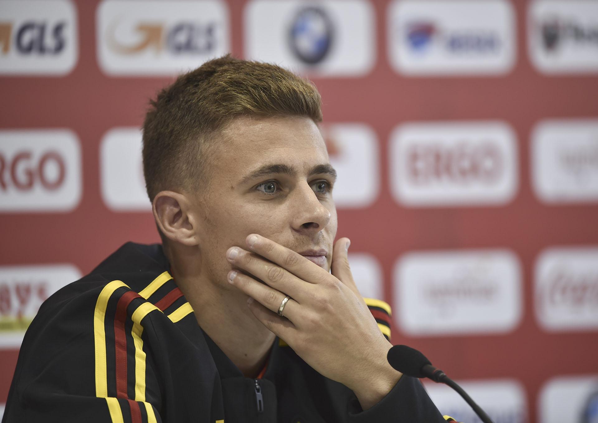 Thorgan Hazard, Bélgica, 25 años, soltero (AFP)