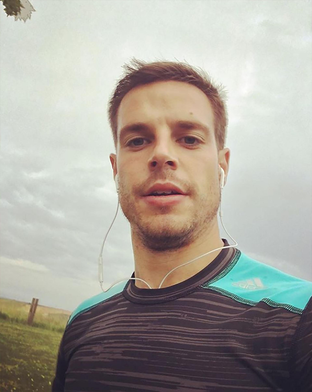 César Azpilizcueta, España, 28 años, casado (Instagram)
