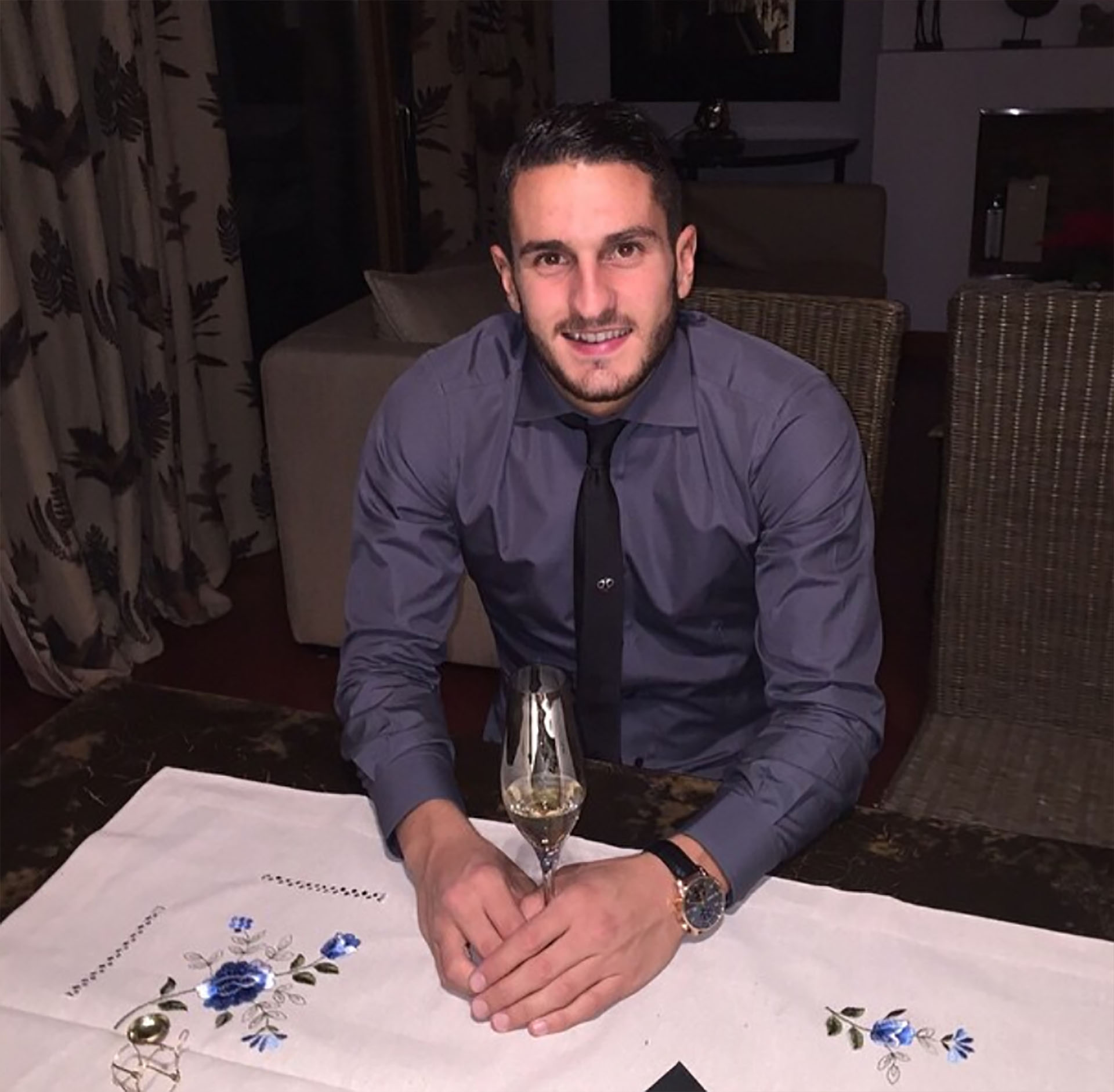 Koke Resurrección, España, 26 años, casado (Instagram)