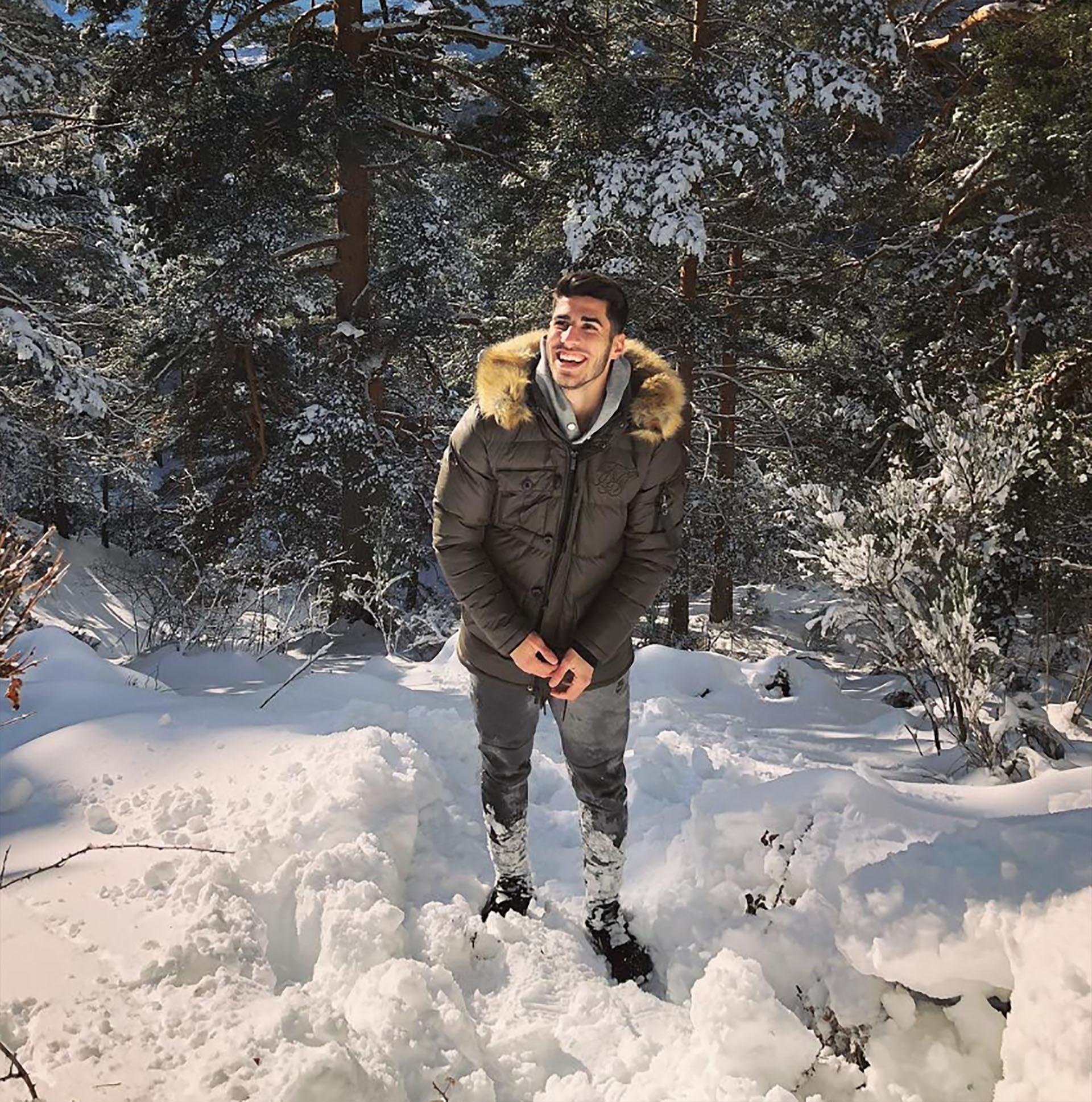 Marco Asensio, España, 22 años, soltero (Instagram)