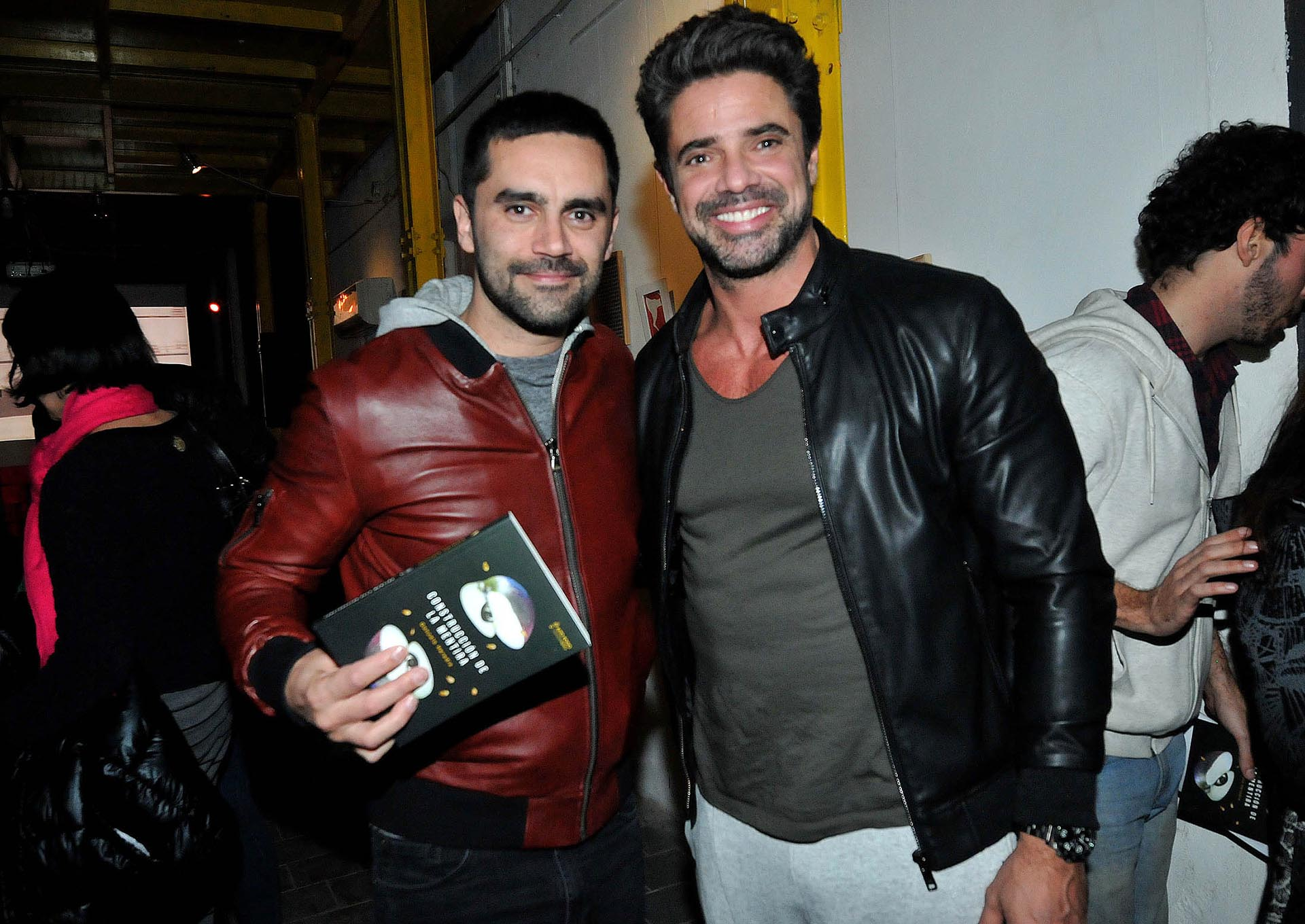 Gonzalo Heredia con Luciano Castro
