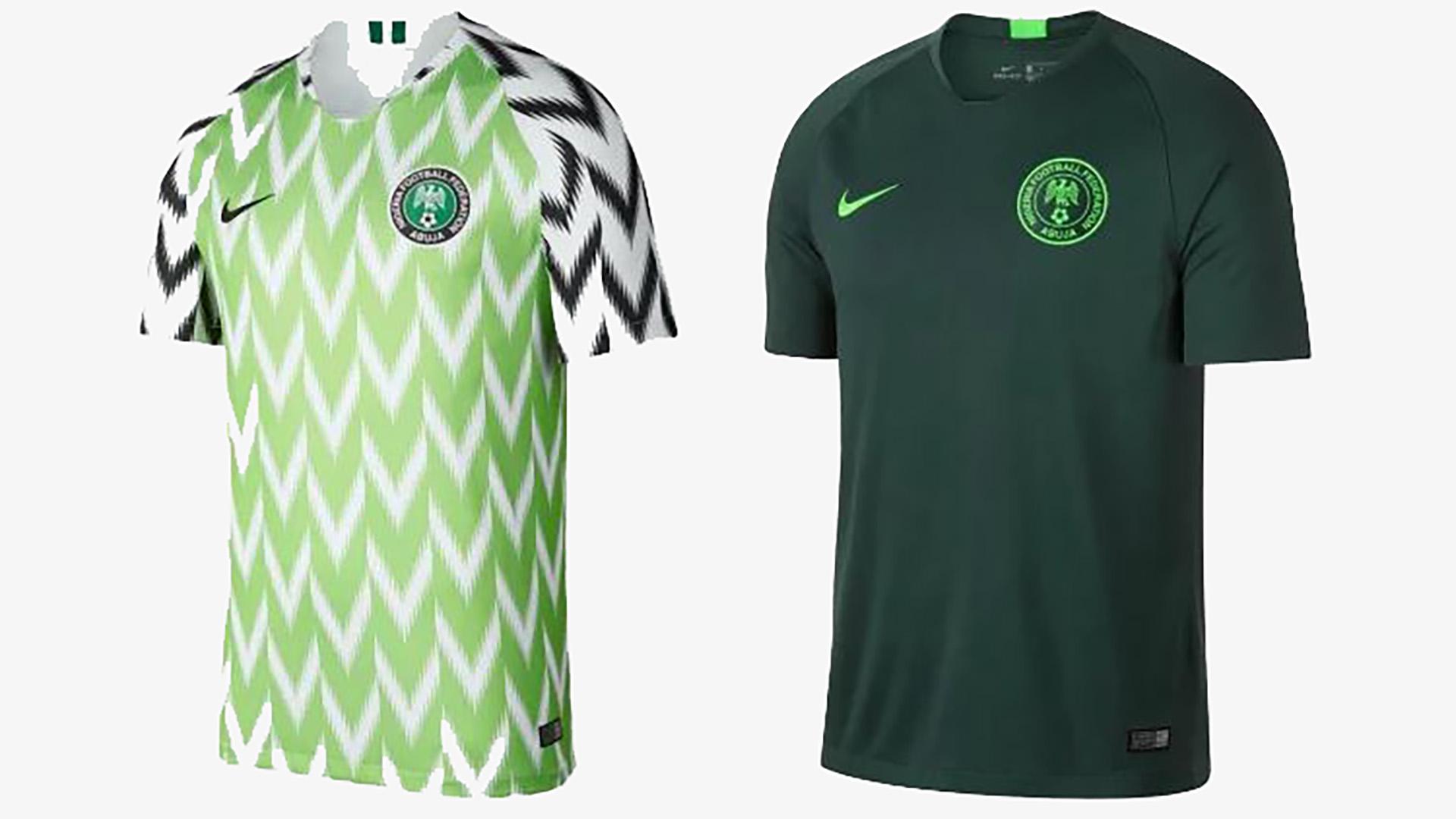 Mundial con estilo: las 30 camisetas titulares y suplentes de fútbol ...