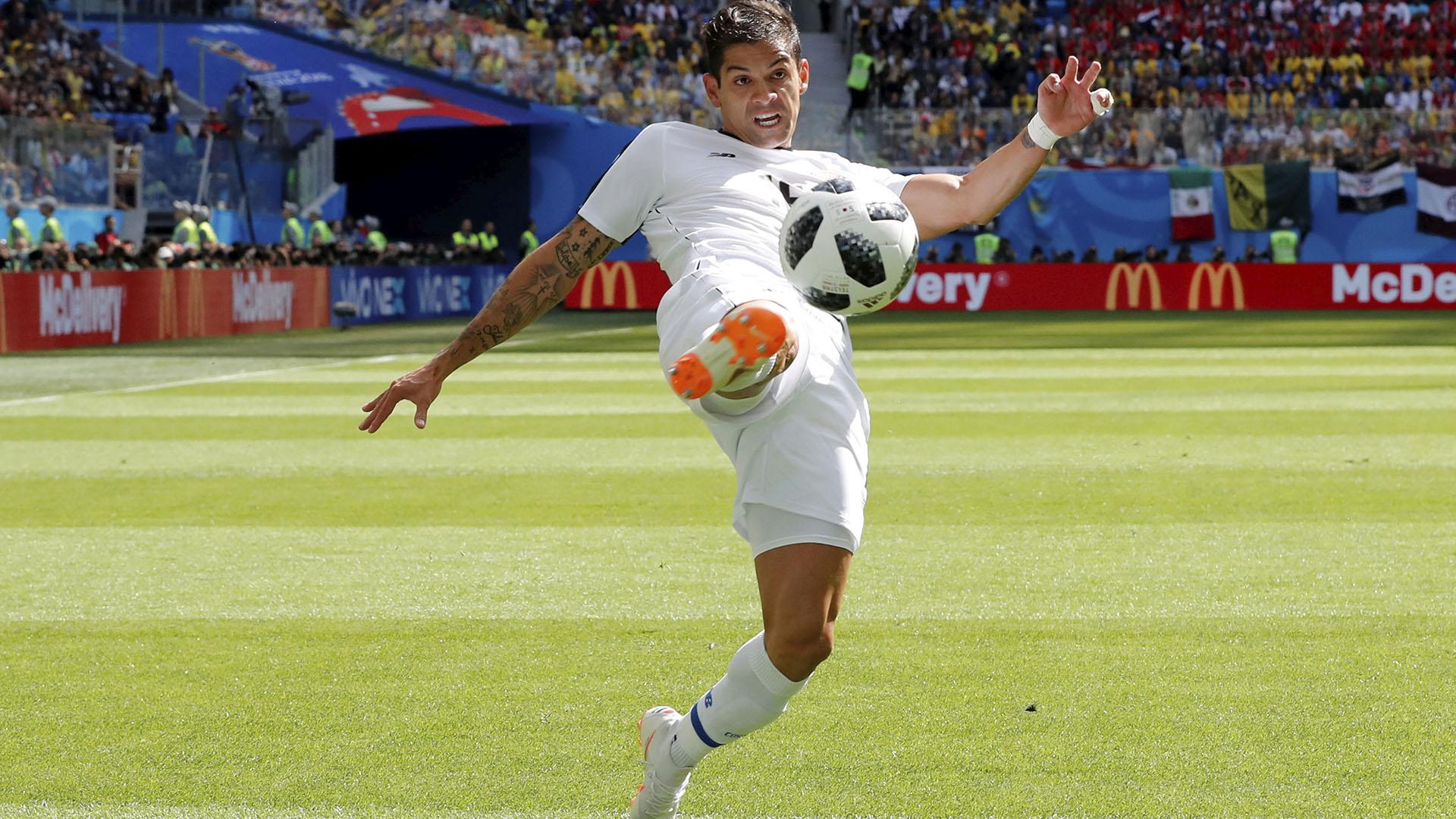 Costa Rica no pudo contra Brasil