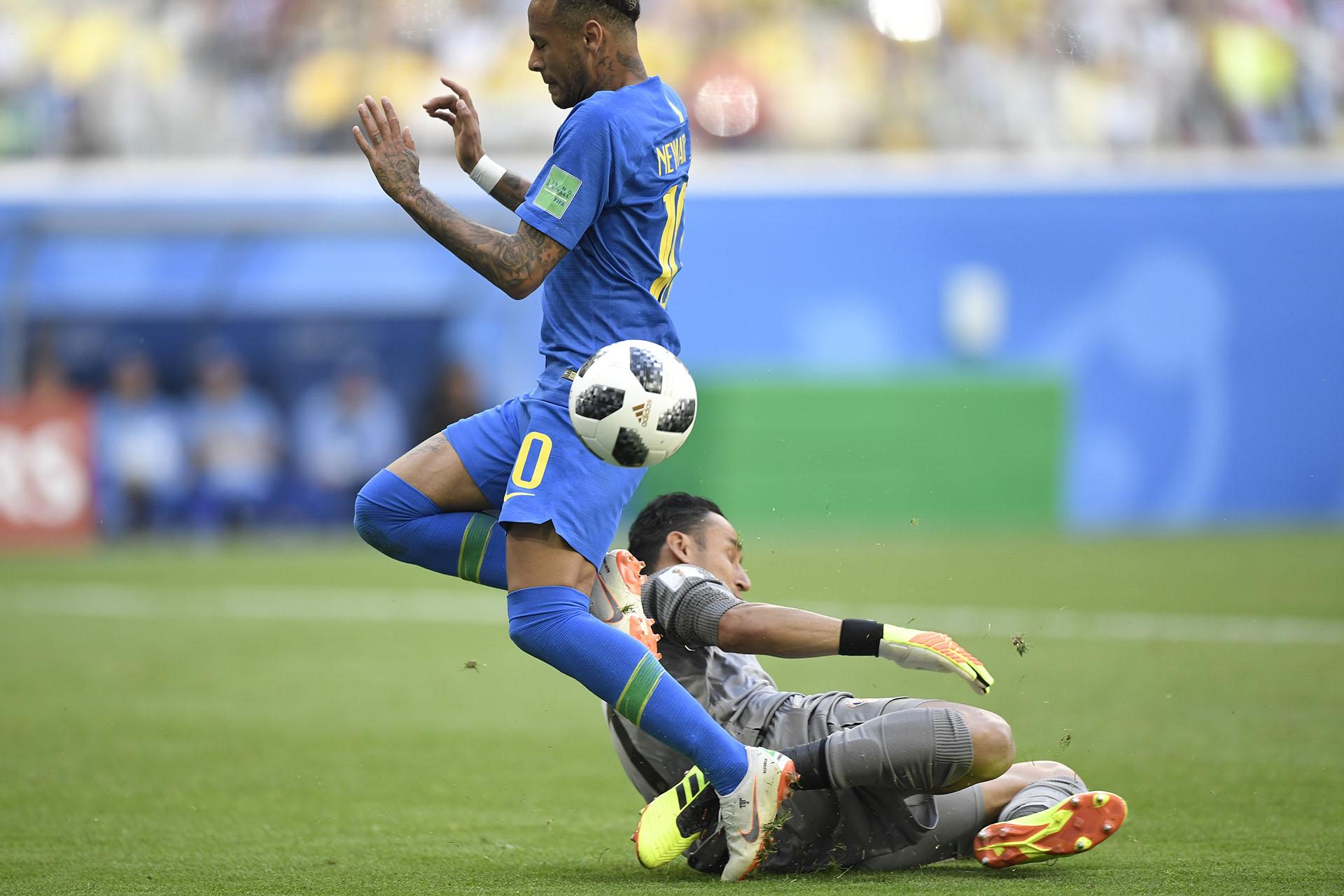 El Brasileño intentó y no pudo en varias ocasiones
