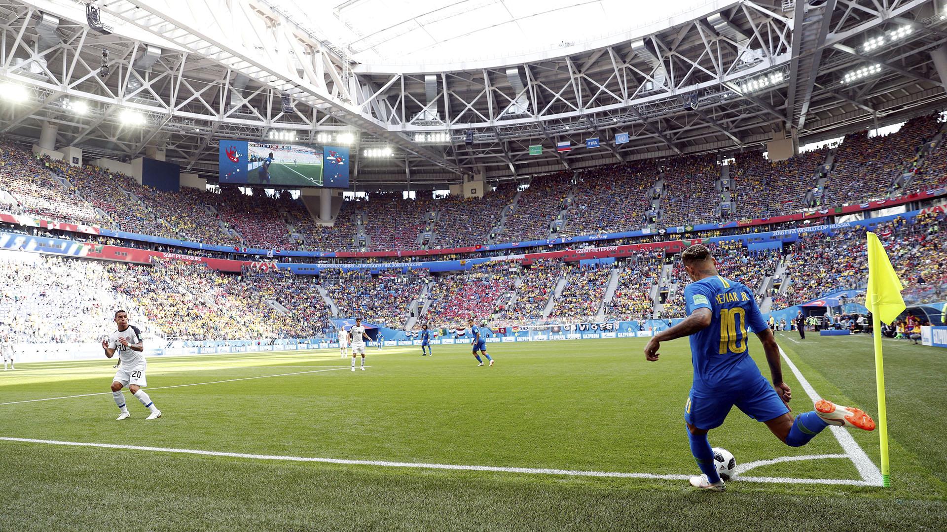 Neymar fue el protagonista del partido