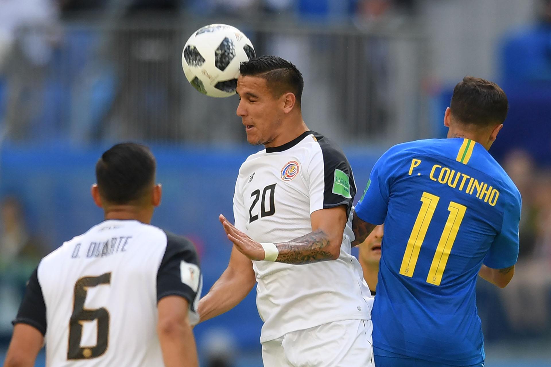 Costa Rica tuvo pocas ocasiones de gol