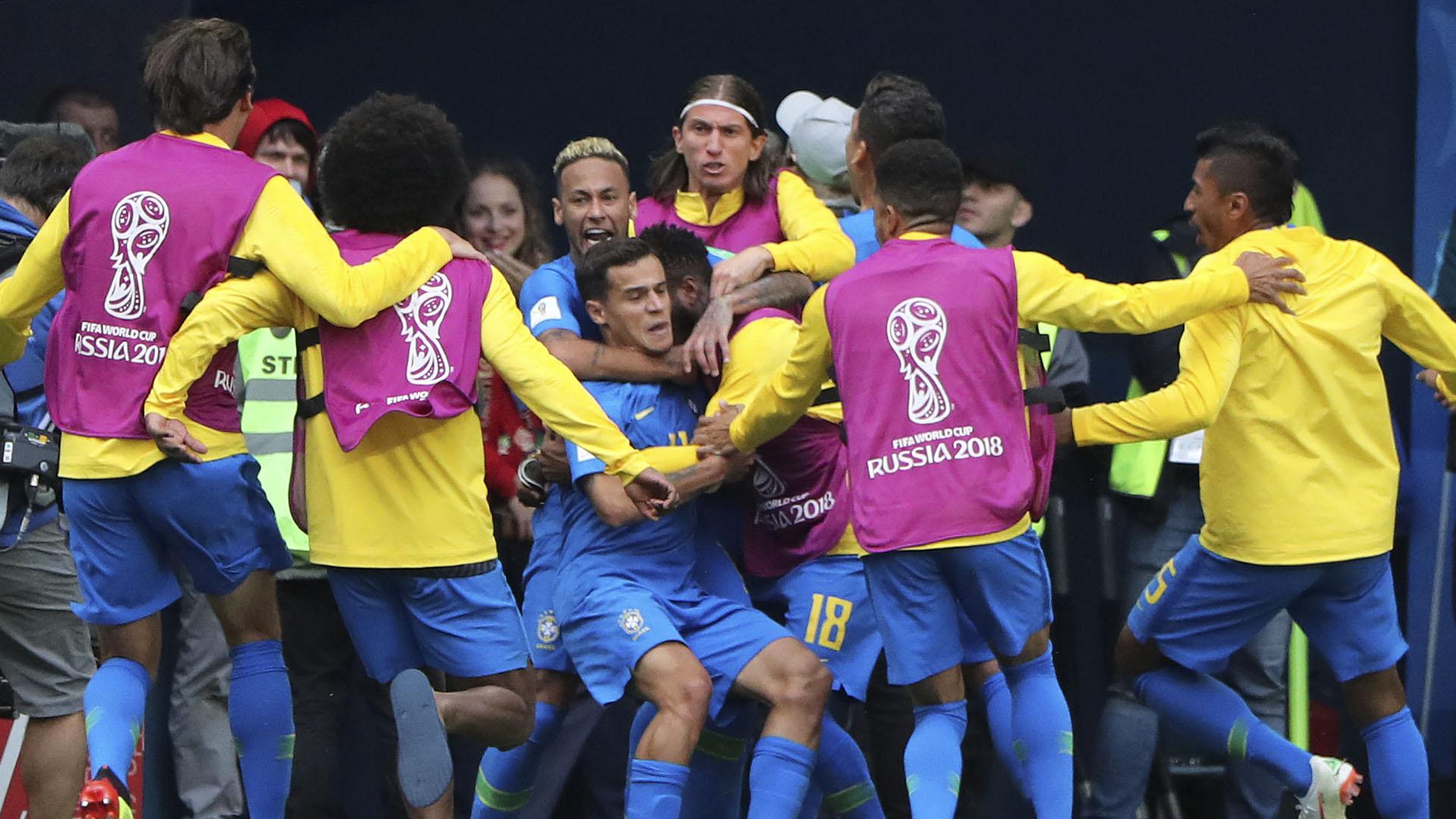 Brasil consiguió su primera victoriaen el torneo