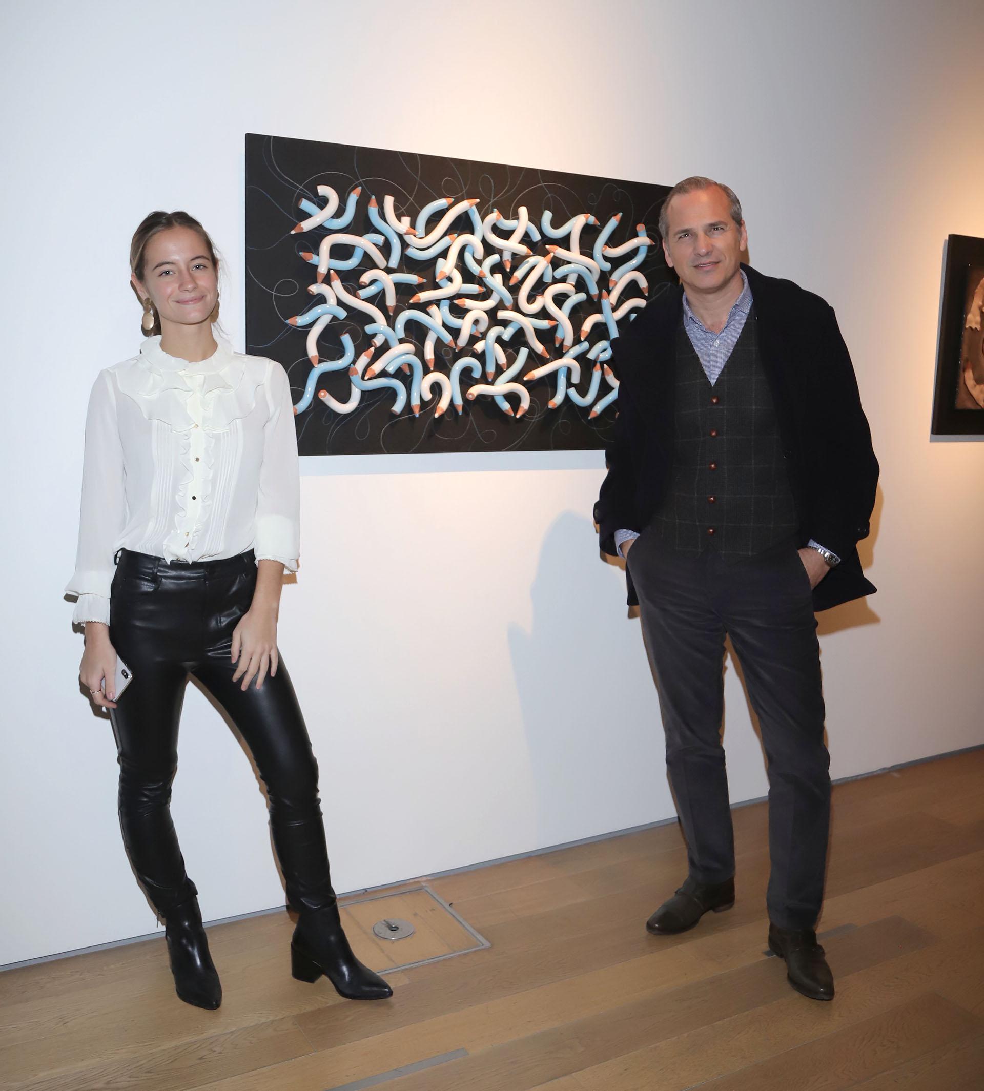 Violeta Juni y Javier Iturrioz