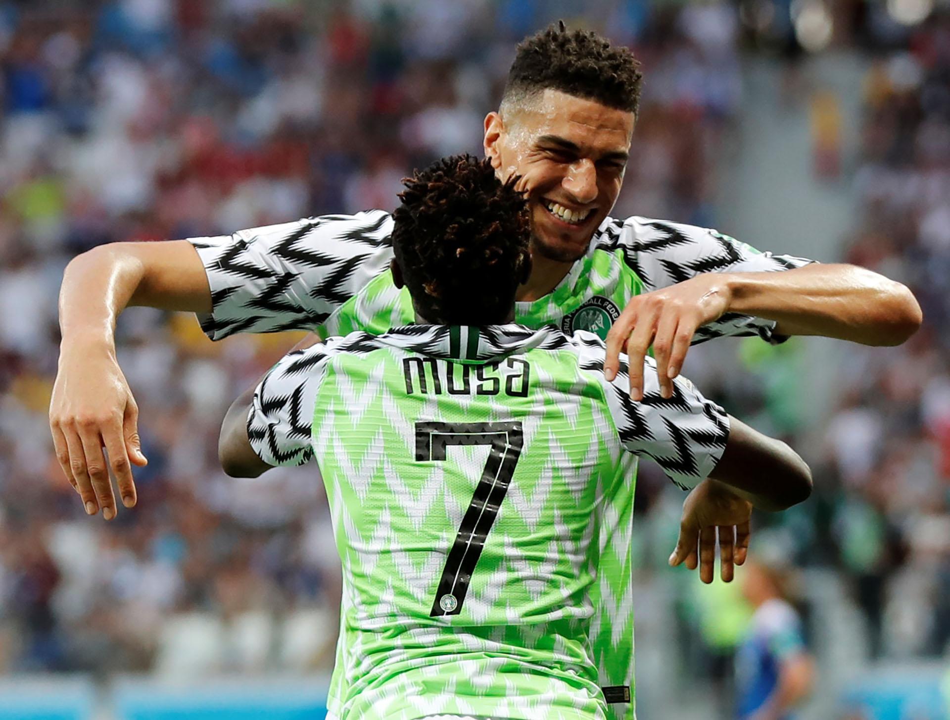 Ahmed Musa, goleador de Nigeria (REUTERS)
