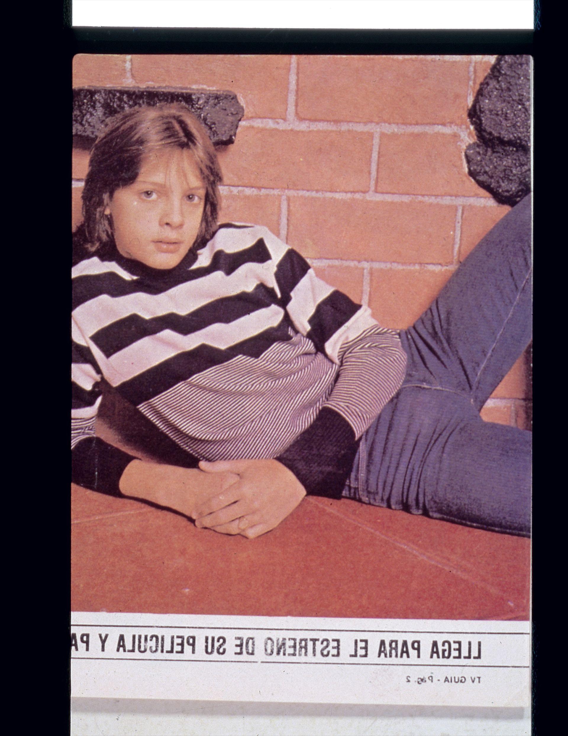 Una estrella en pleno crecimiento, Luis Miguel a sus 13 años