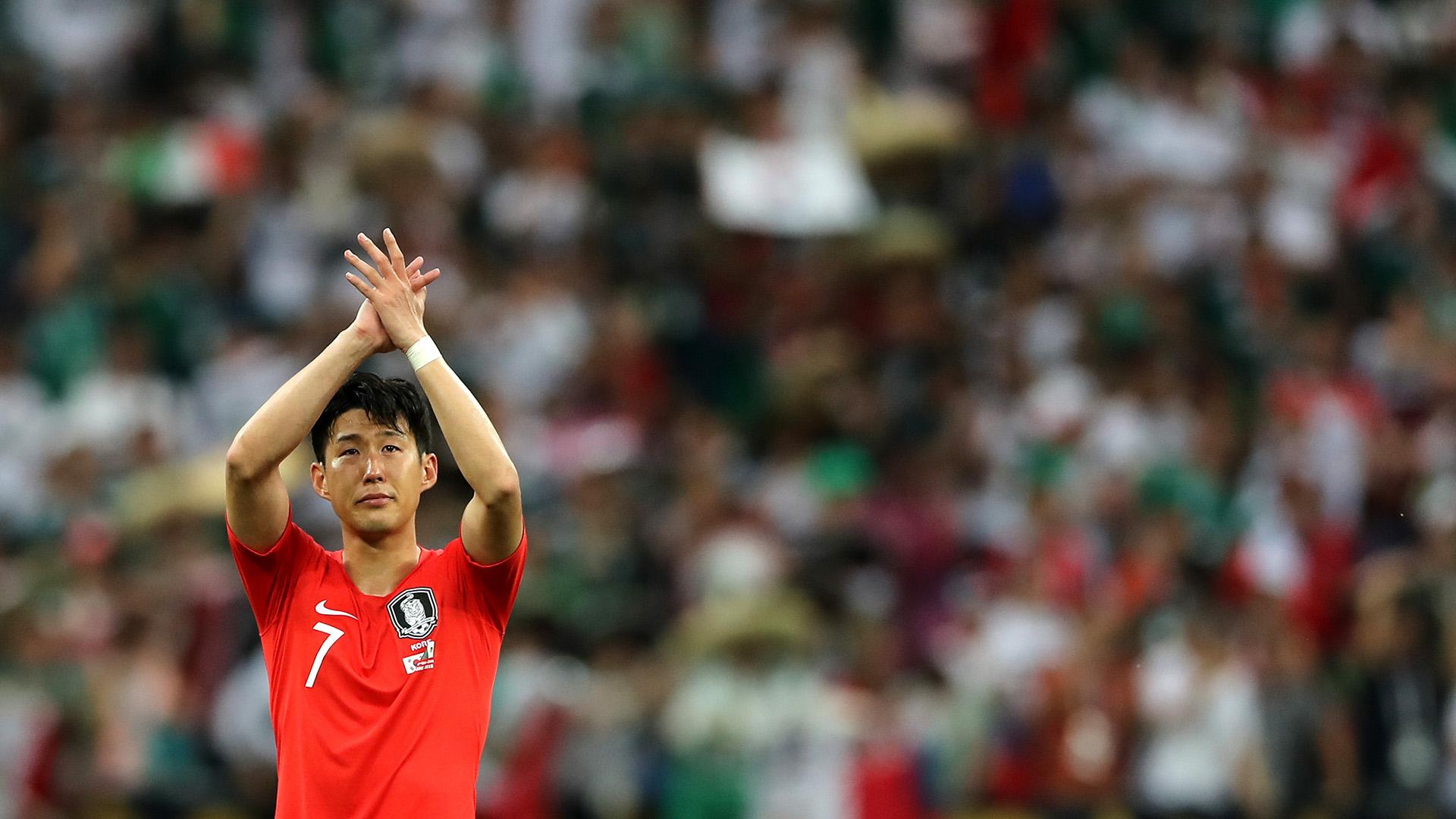 Heung-Min Sonfue la figura de Corea del Sur en el Mundial de Rusia 2018(Getty Images)