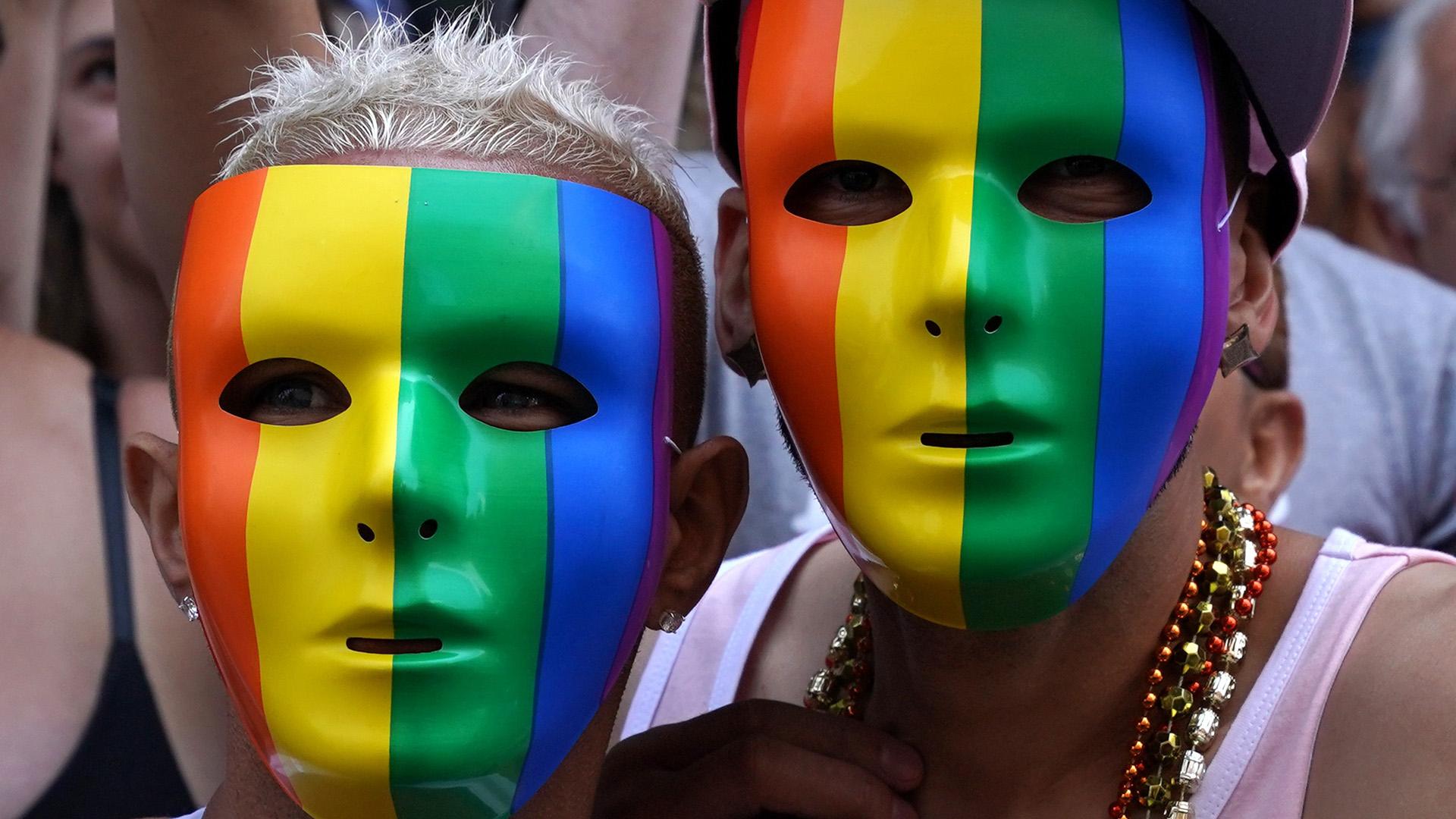 Los manifestantes pidieron diversidad (AFP)