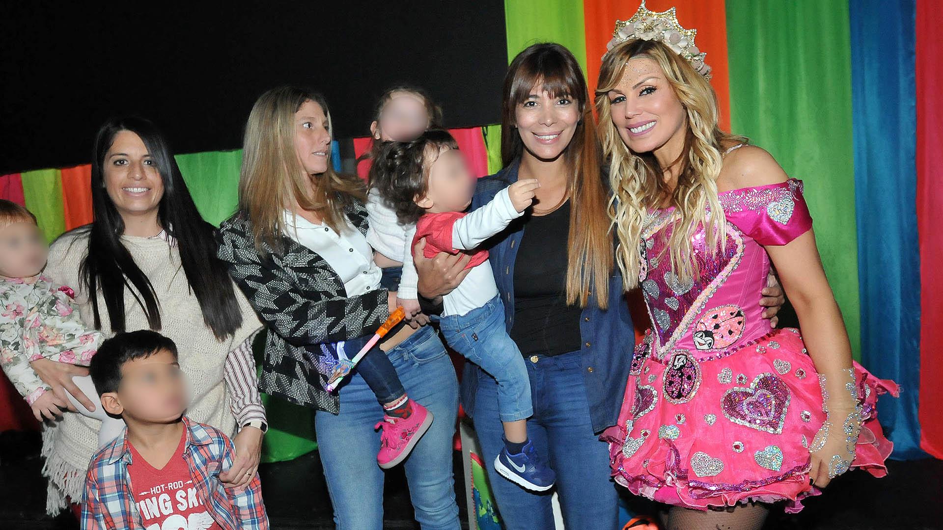 Ximena Capristo con Félix, el hijo que tuvo con Gustavo Conti