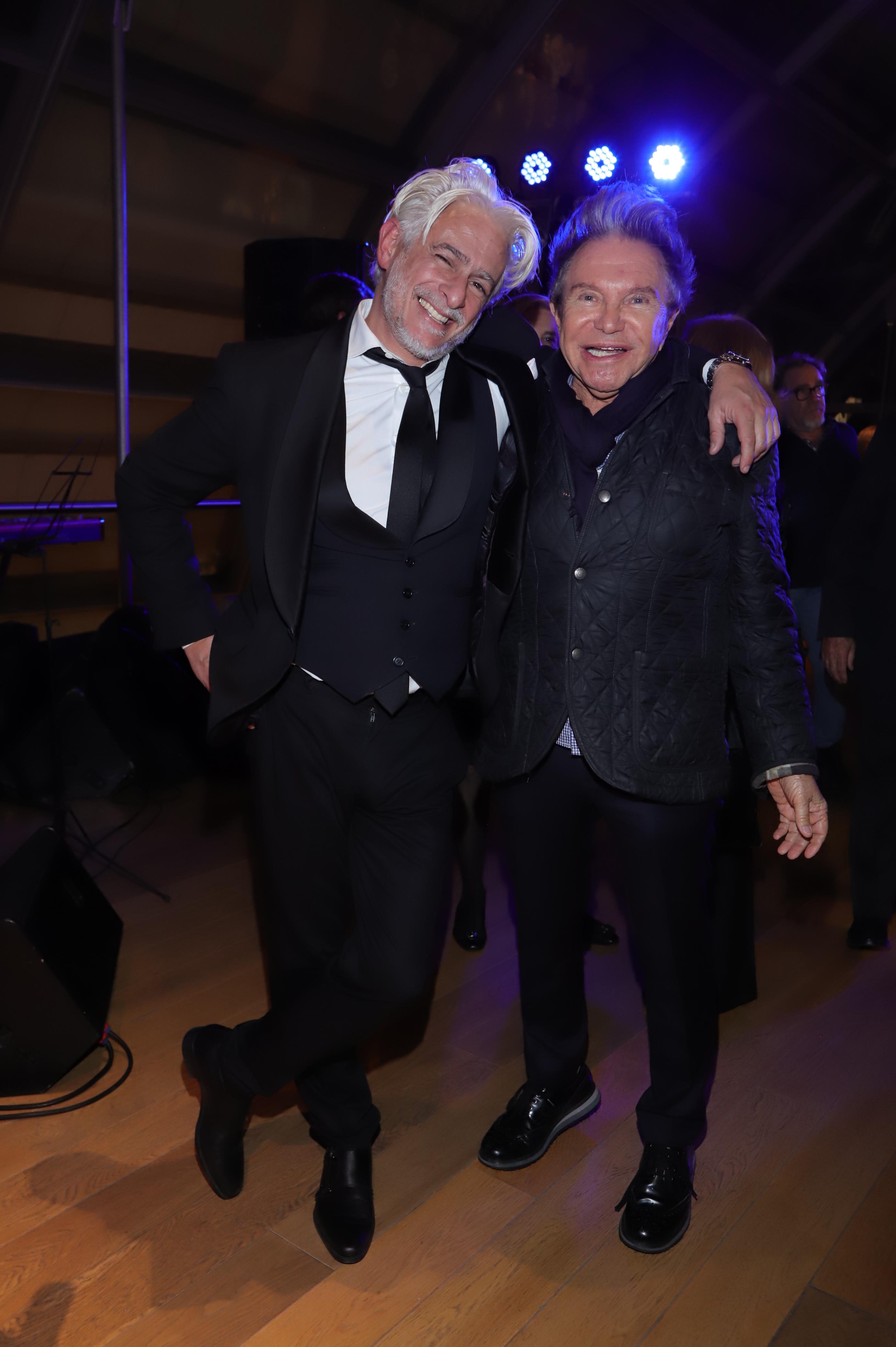 Pablo Bañares y Felipe Rozenmuter