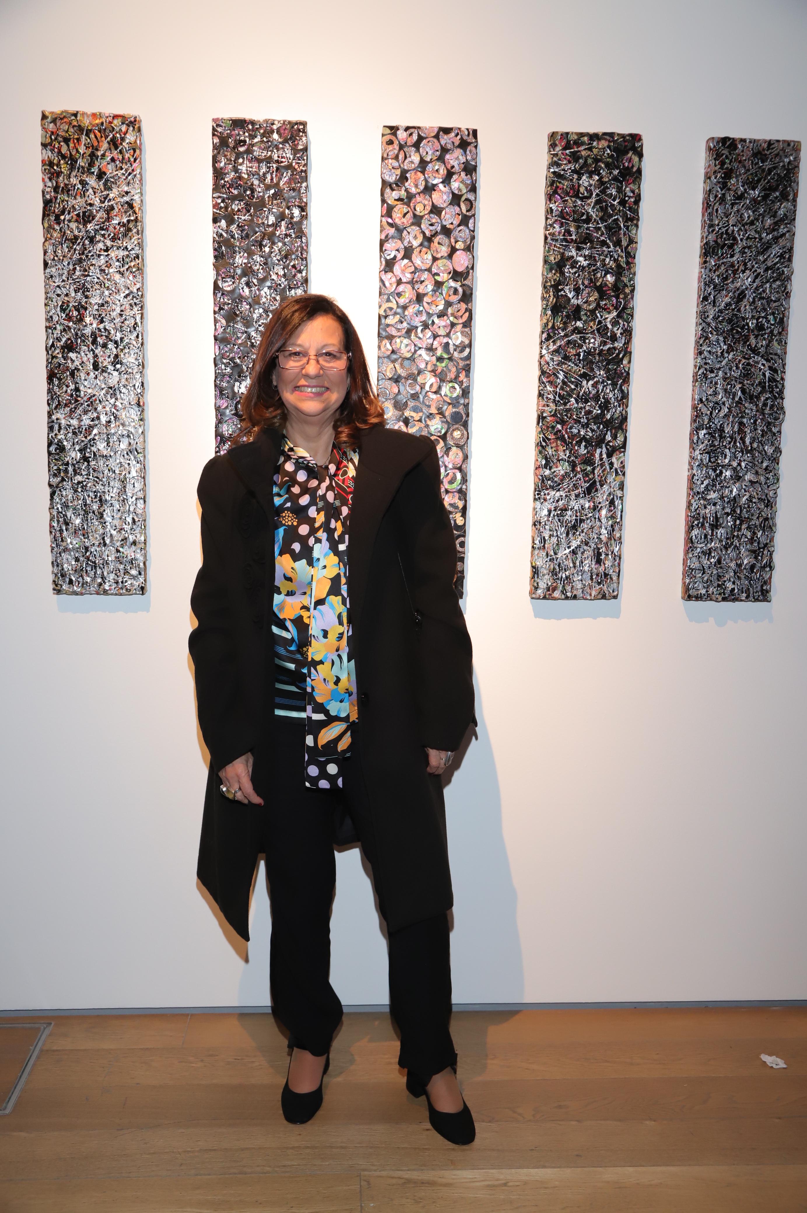 La artista Stella Canale
