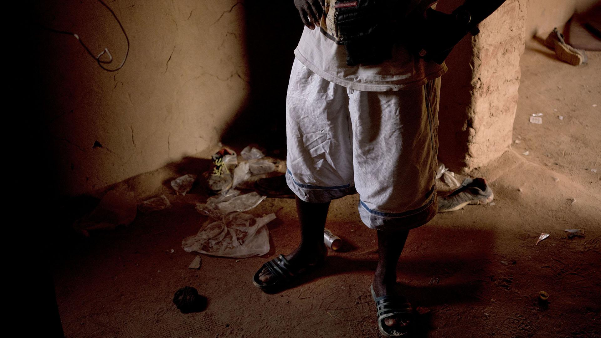 Una aldea en Níger es el destino en el que algunos logran salvar su vida. Pero no todos llegan (AP)