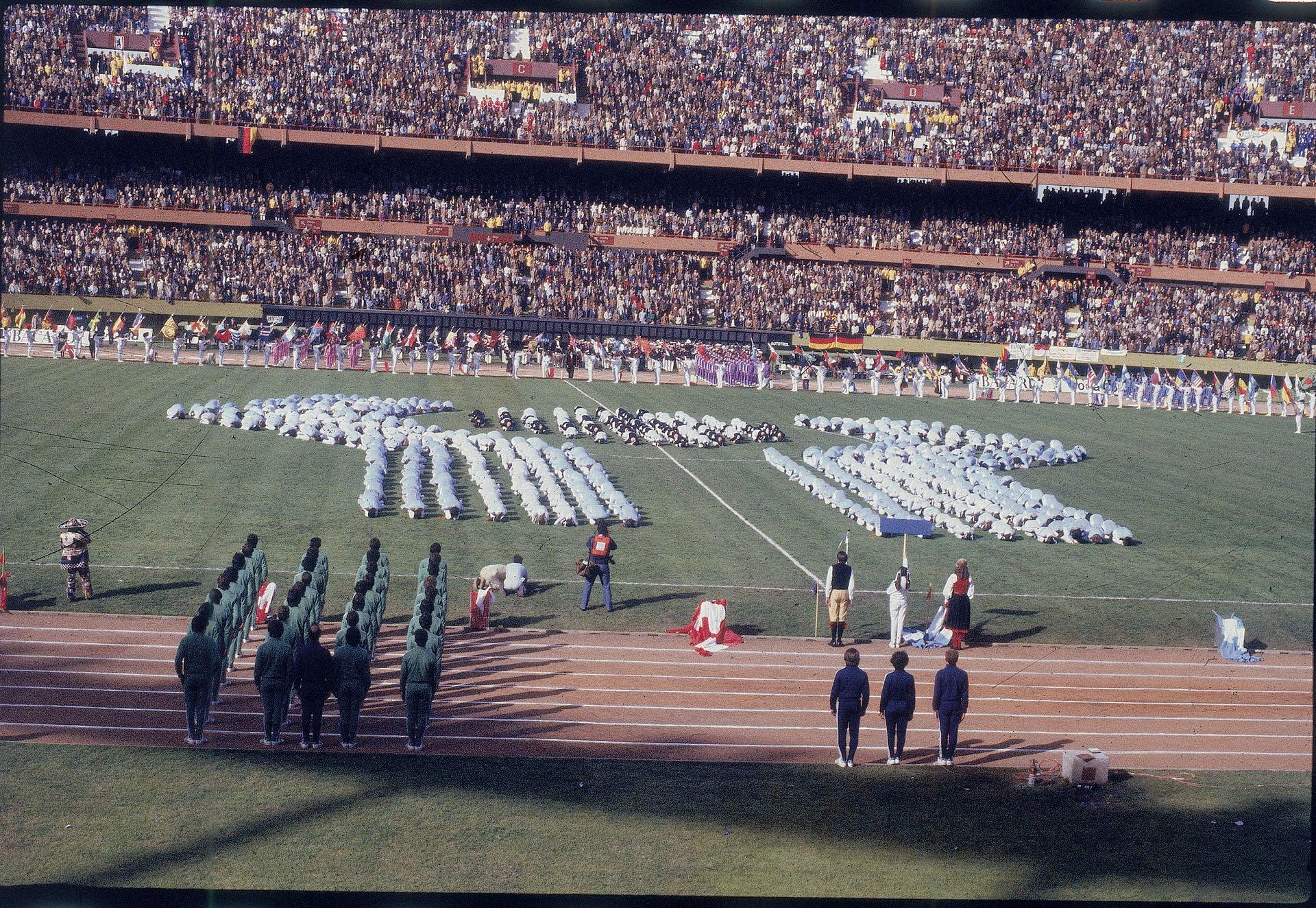 El 1º de junio de 1978 se realizó al ceremonia inaugural del Mundial en el Estadio Monumental