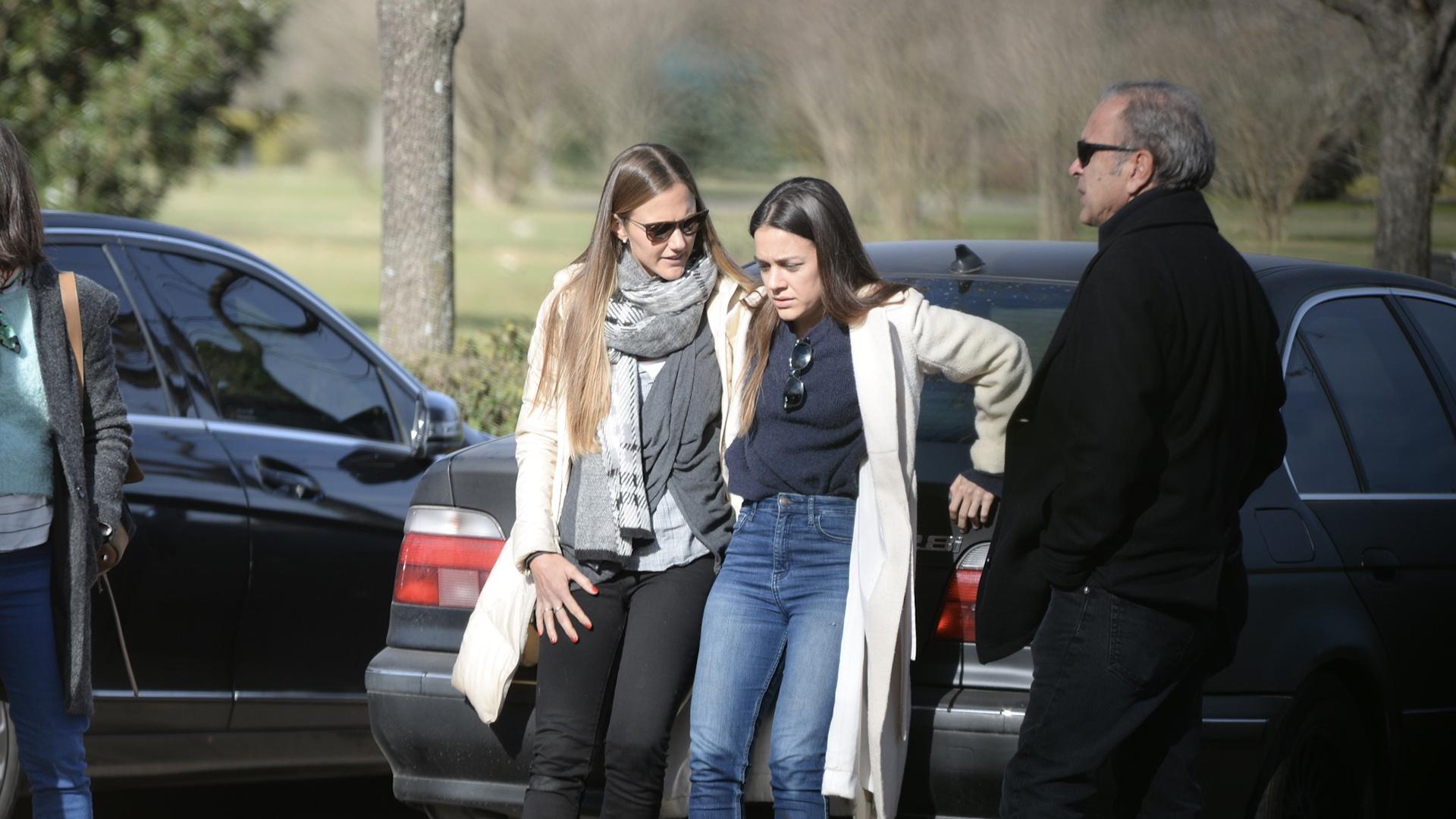 Las primas Paulina Trotz y Sonia Zavaleta