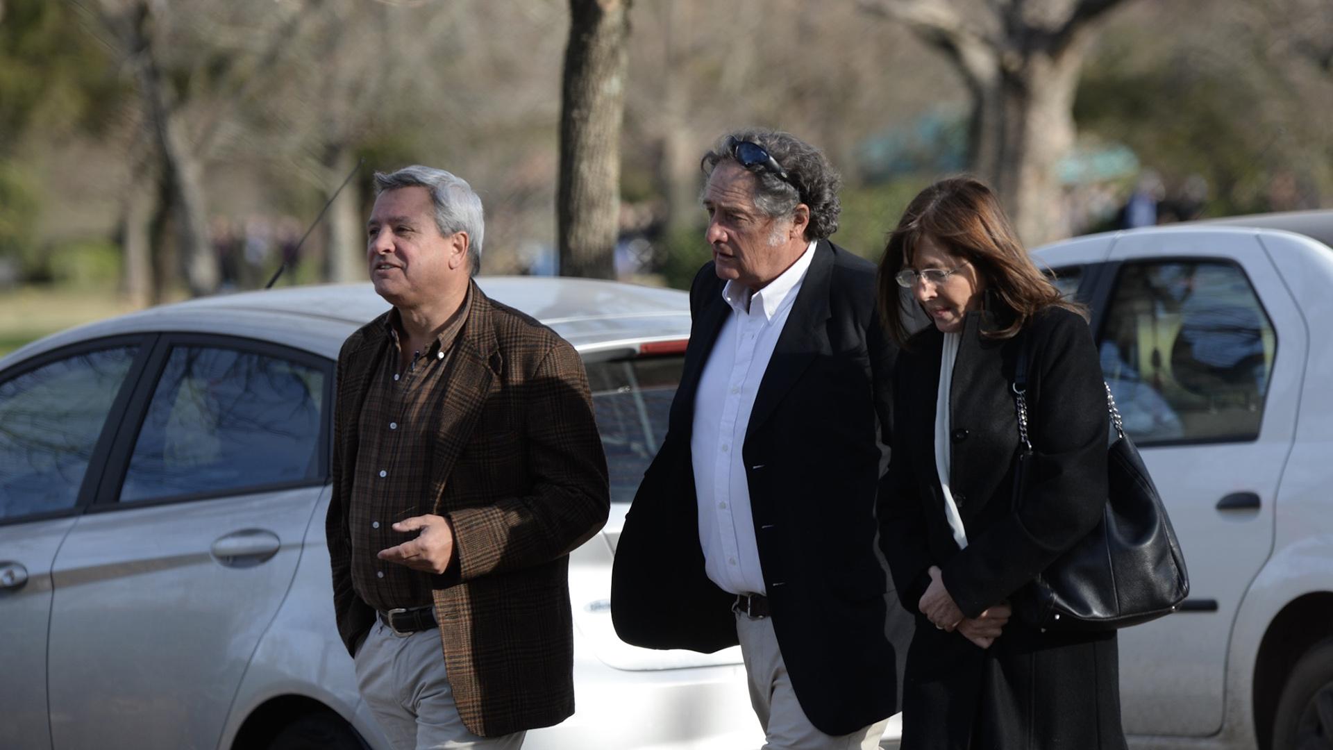 Gustavo y María Celia Pereyra, amigos de Horacio Laprida