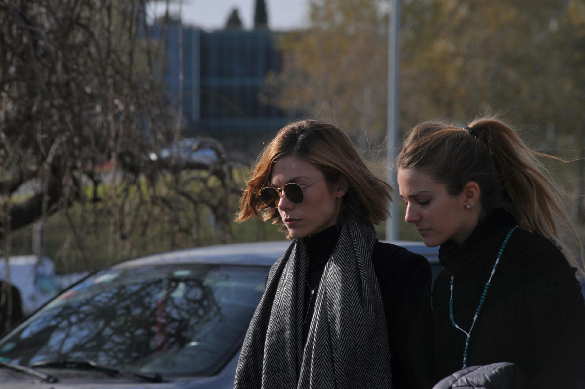 Laura y Pilar Laprida, las hermanas menores