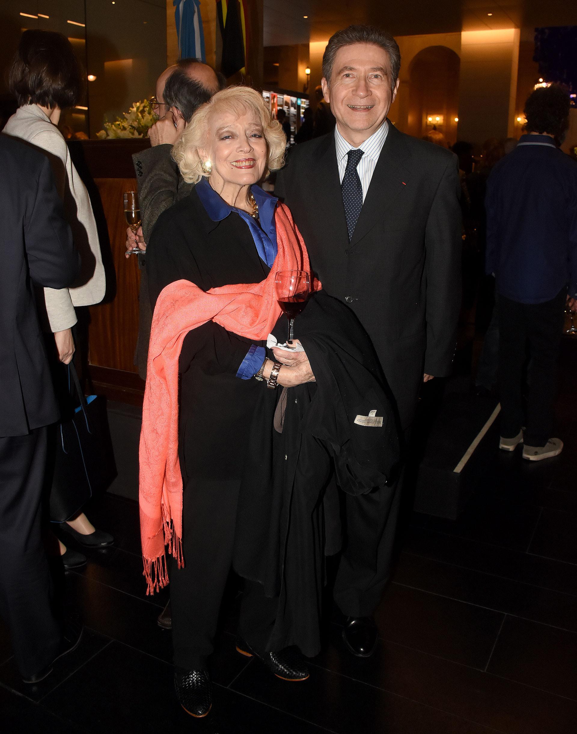 El embajador de Francia en la Argentina, Pierre Henri Guignard