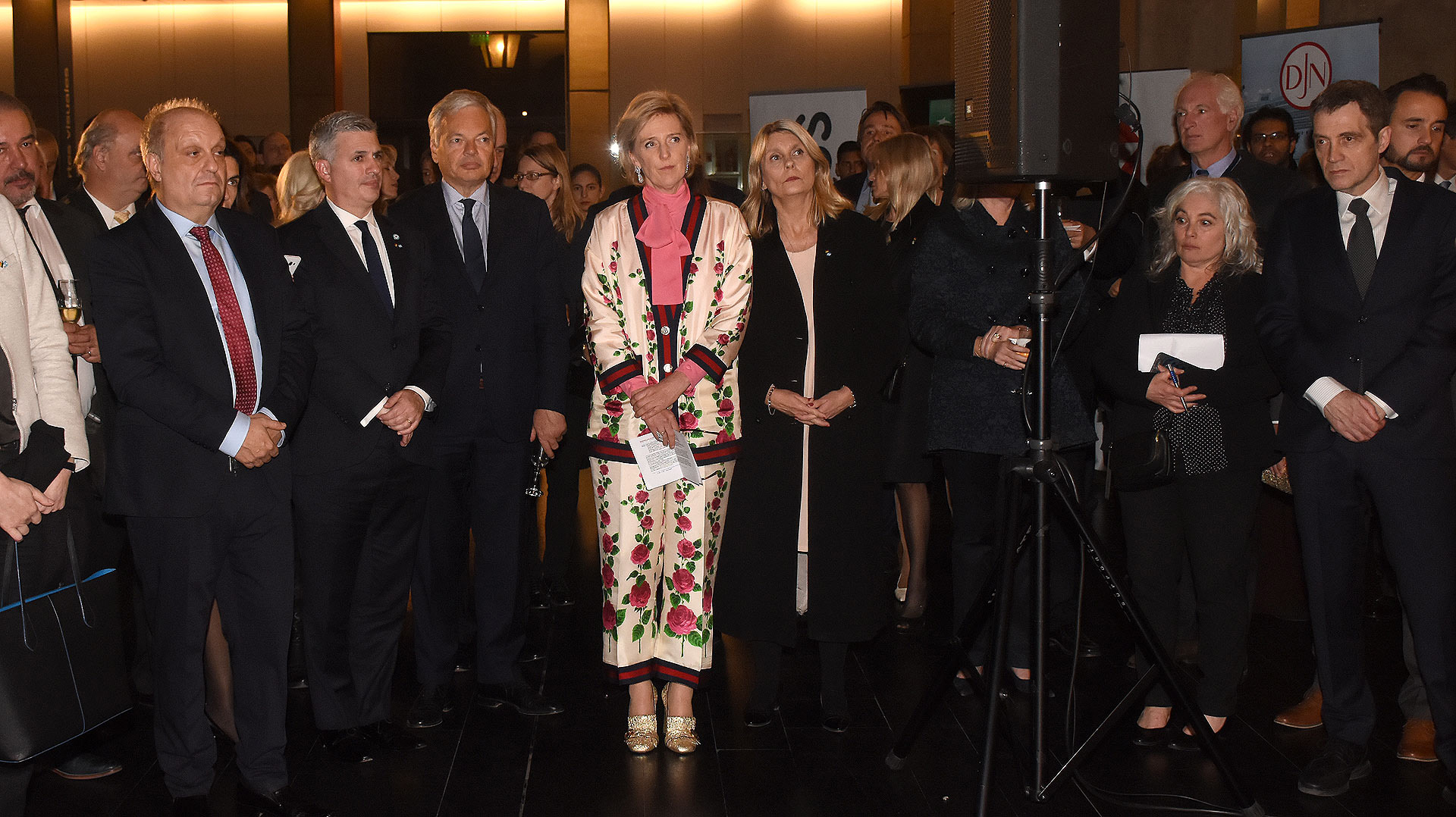 La Misión Económica Belga, que acompaña a la princesa por Argentina y Uruguay, cuenta con unos 200 participantes, entre ellos, 134 empresarios de 94 compañías