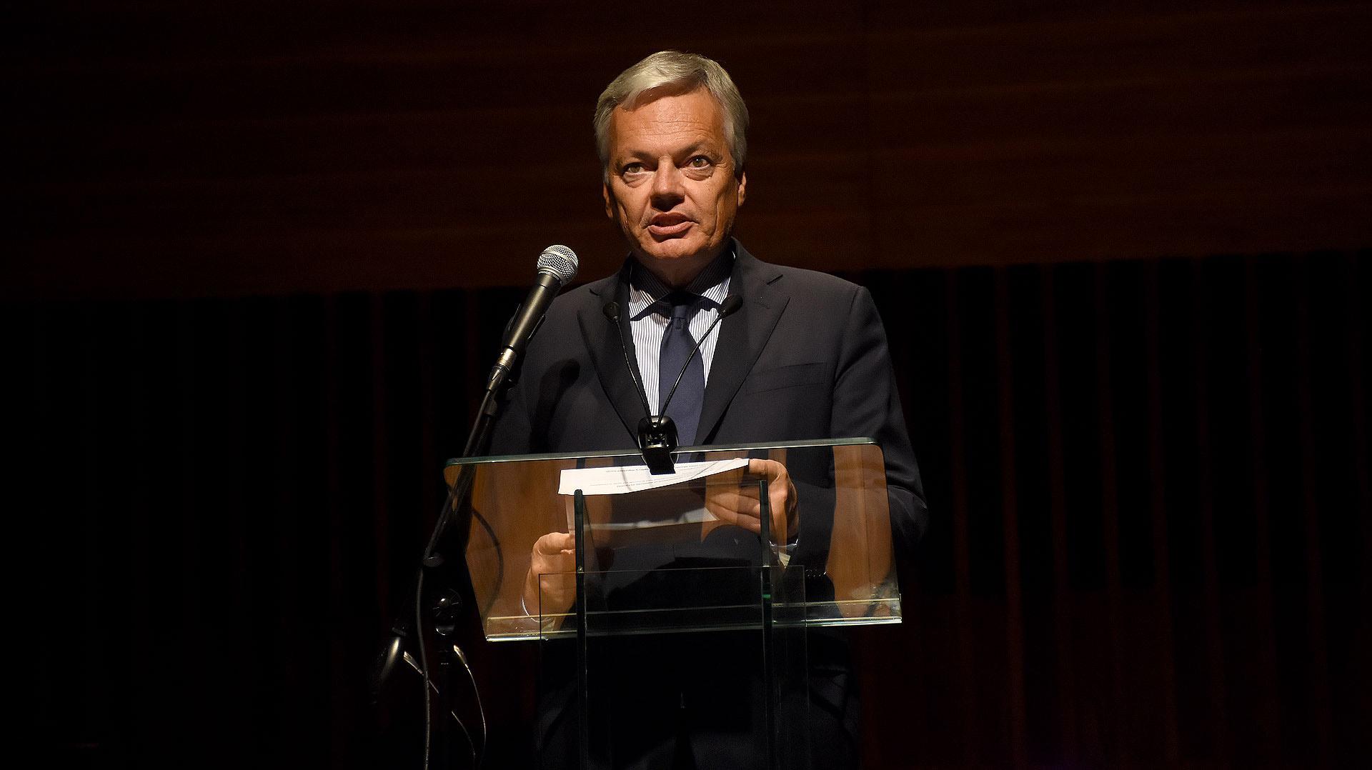 El discurso de Didier Reynders, viceprimer ministro Federal y ministro de Relaciones Exteriores y Asuntos Europeos
