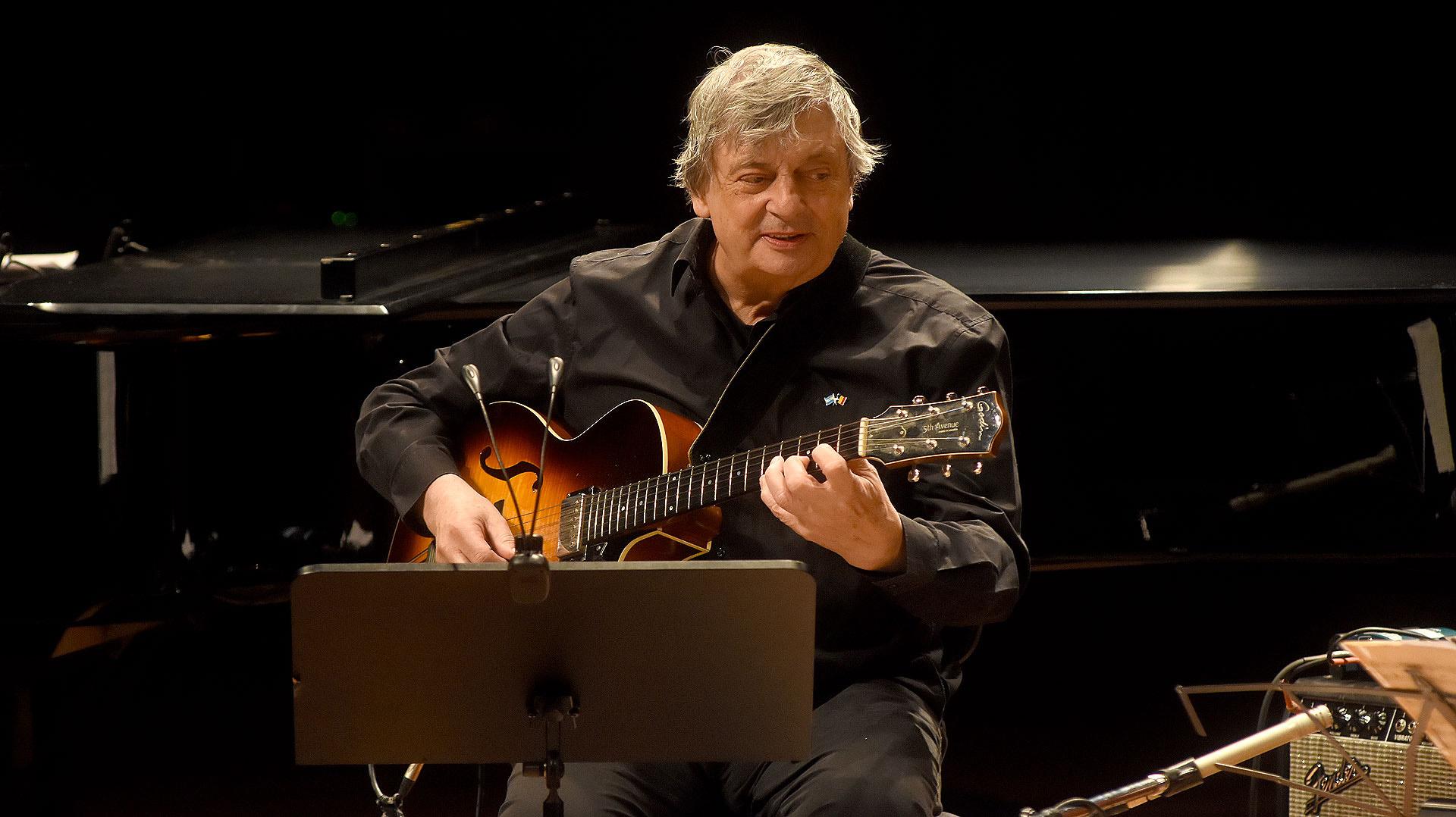 El guitarrista belga, Philip Catherine