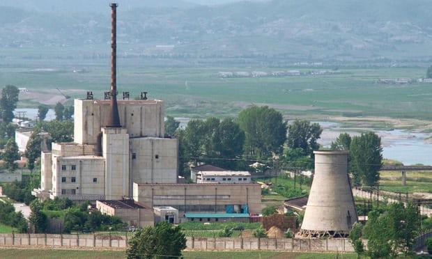 La planta nuclear de Yongbyon en una foto de 2008 (Kyodo/Reuters/archivo)