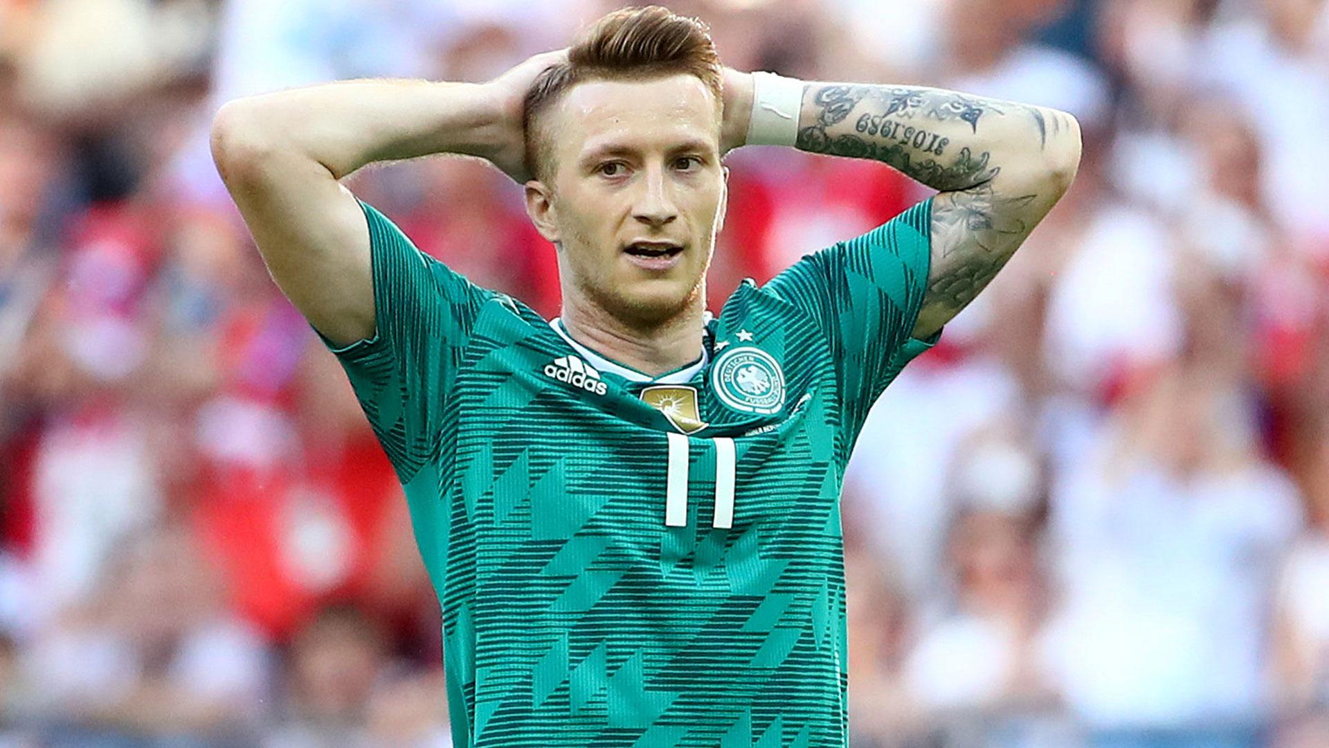 Reus tampoco pudo cambiar la historia más oscura de Alemania en los mundiales (Reuters)