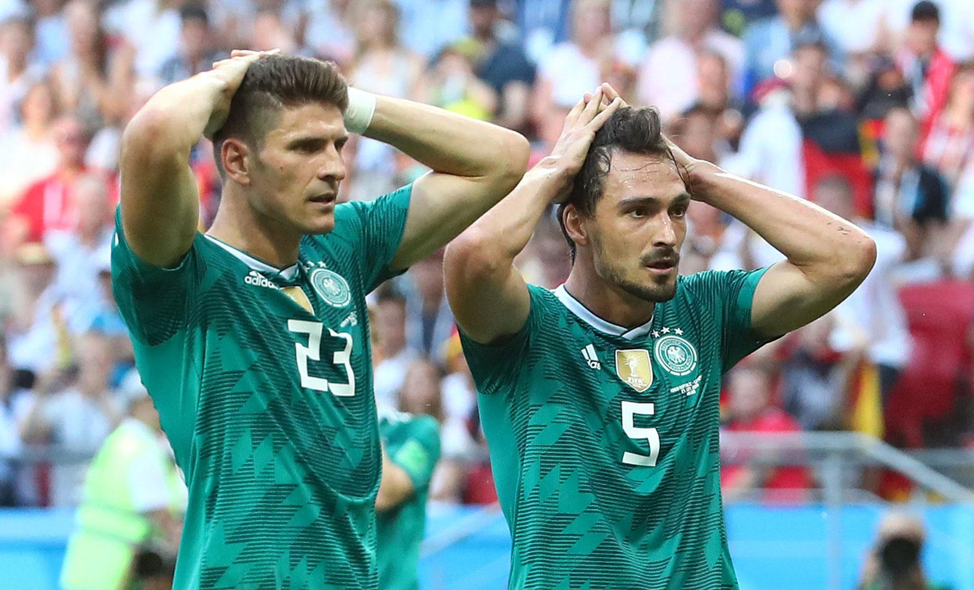 Mario Gomez y Hummels, el fiel reflejo del pueblo alemán (Reuters)