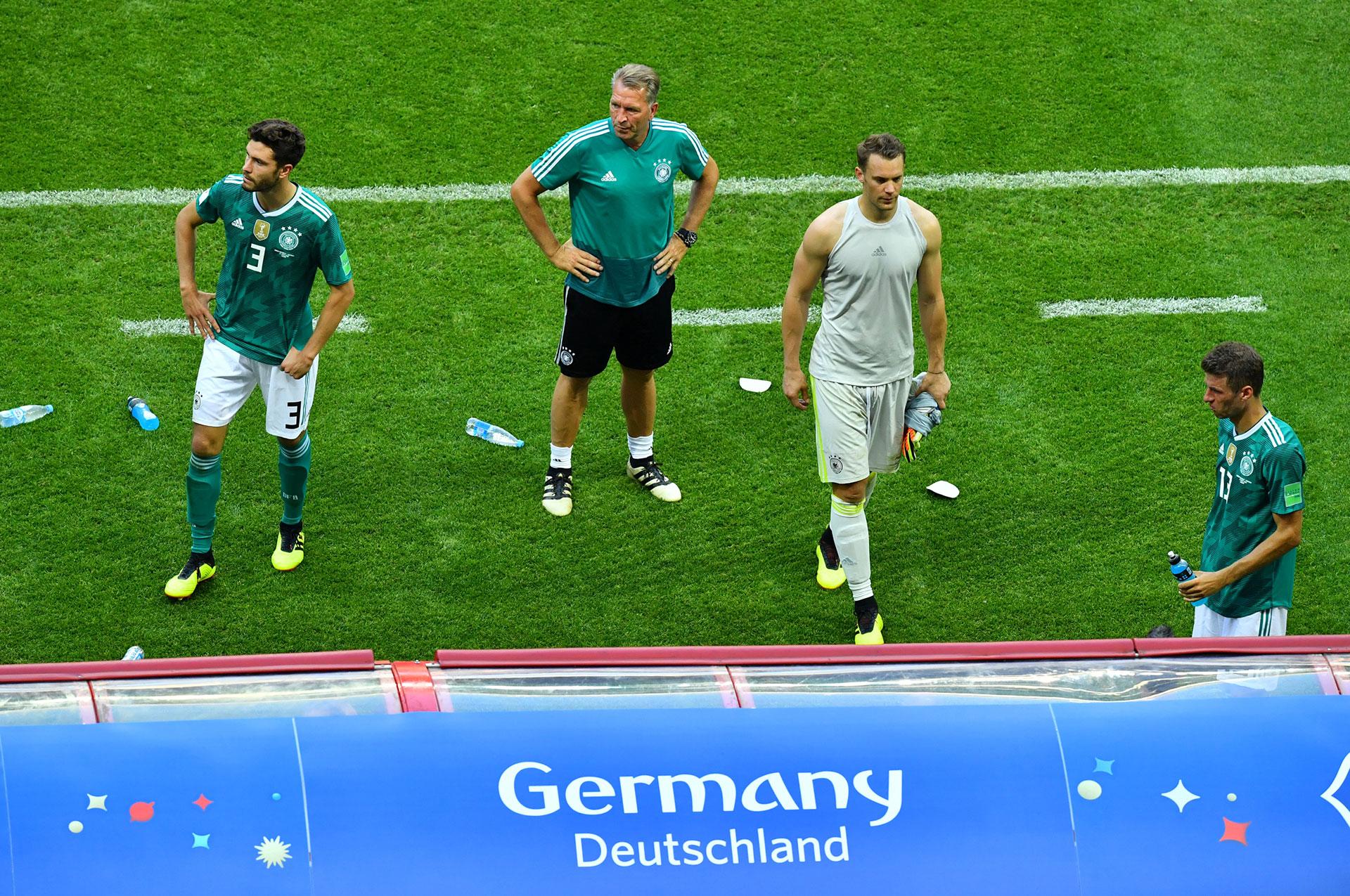 Los teutones se retiran después de la eliminación en Kazán (Reuters)