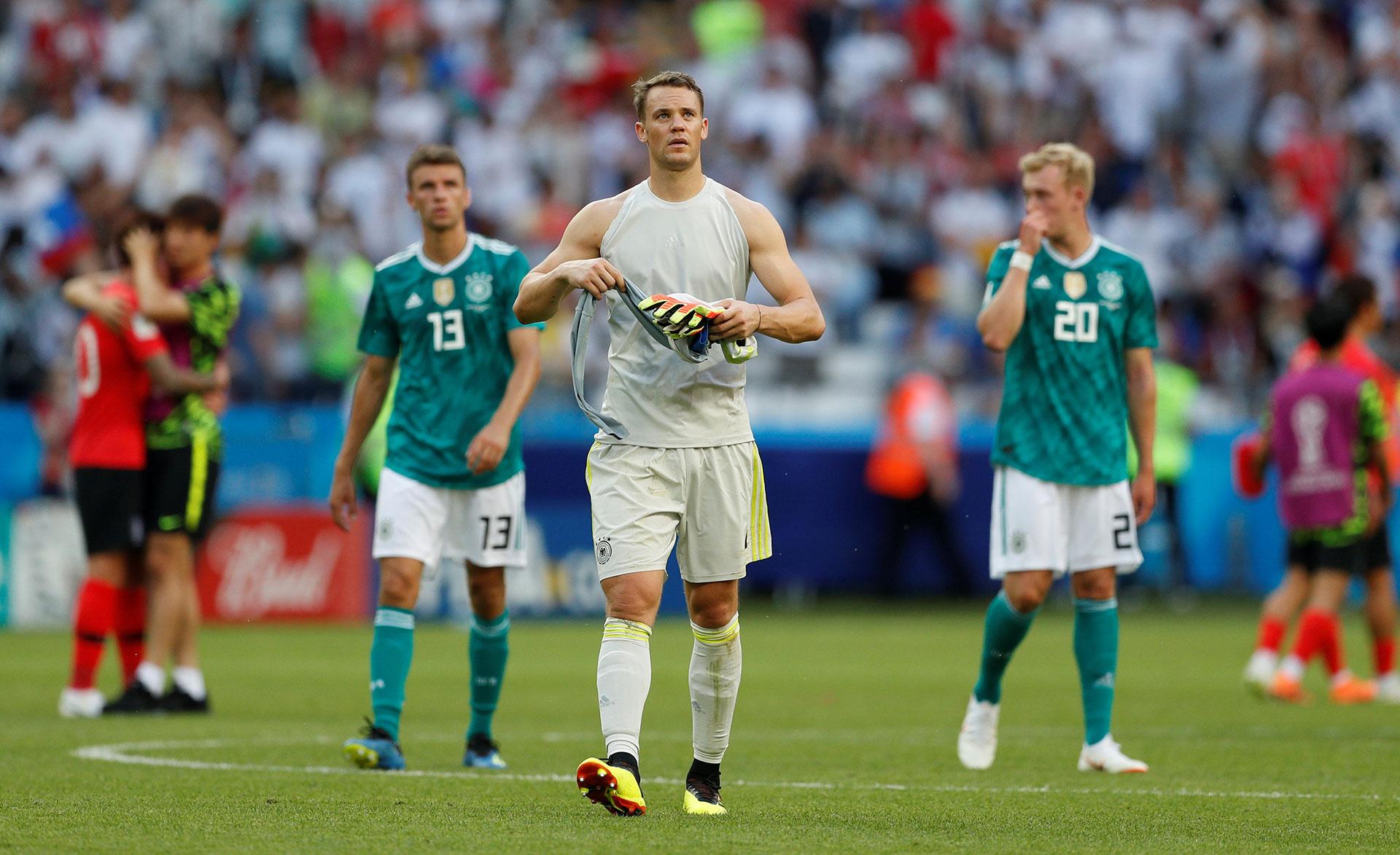 Manuel Neuer quedó expuesto en el segundo tanto de los asiáticos (Reuters)