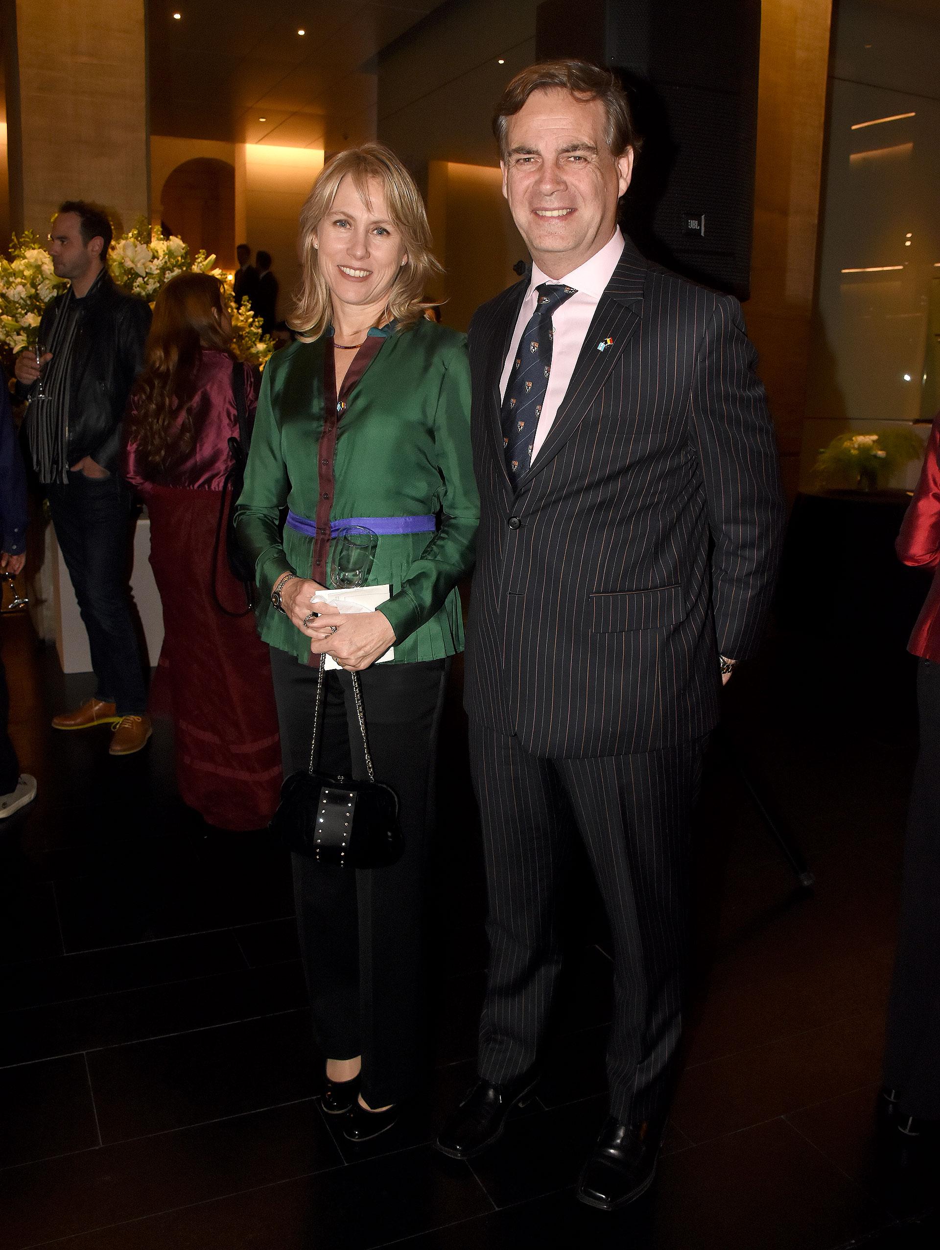 Patricio Carmody, miembro del CARI, y su mujer Verena