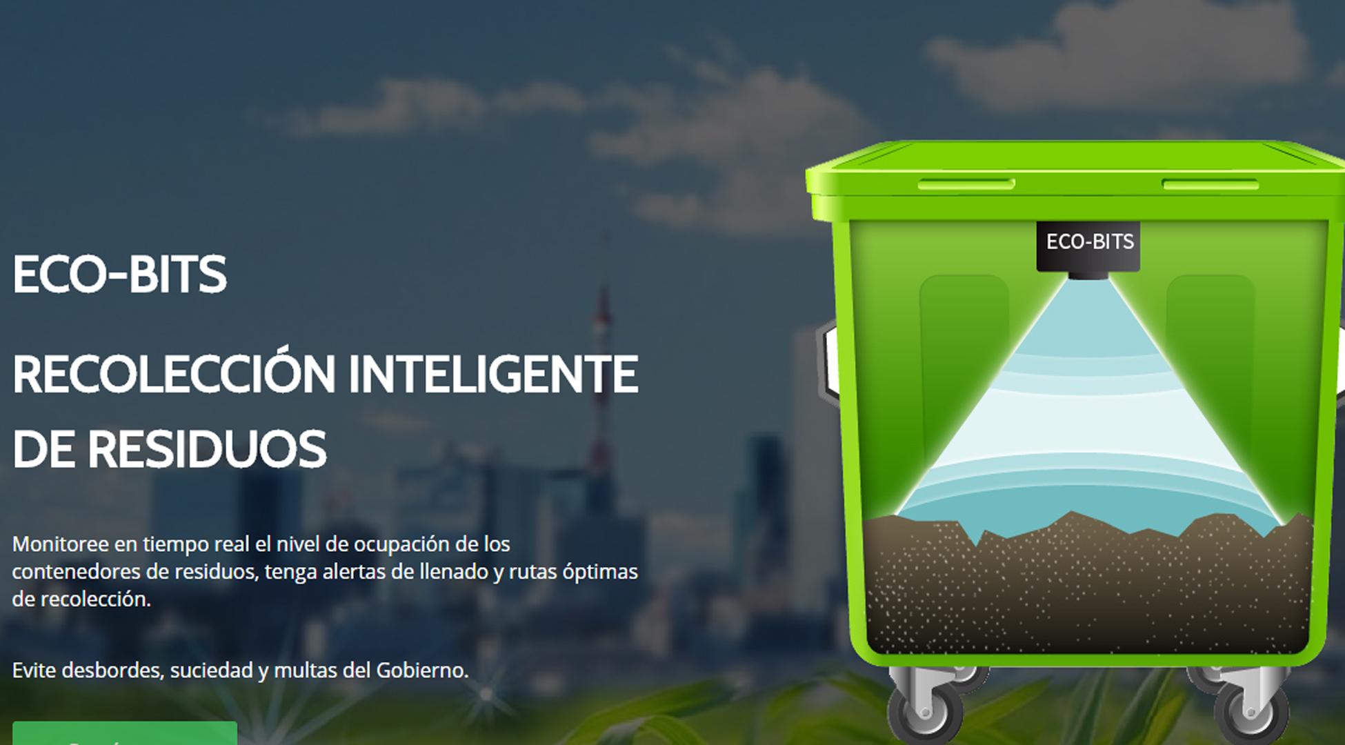 Resultado de imagen para Cómo funciona el primer contenedor de residuos inteligente