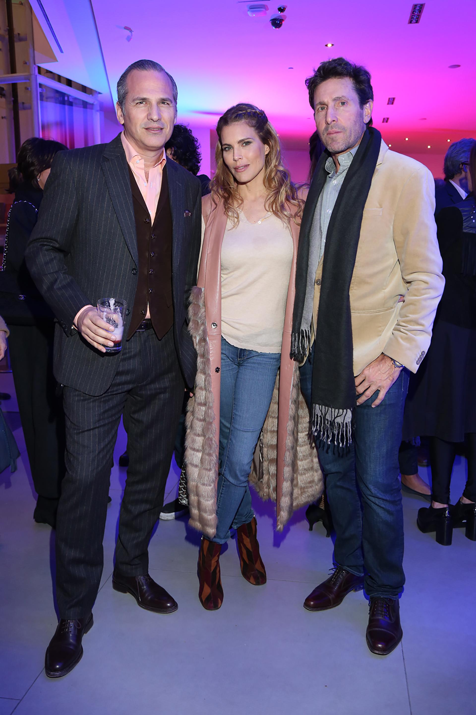 Javier Iturrioz, Julieta Kemble y Justo Saavedra
