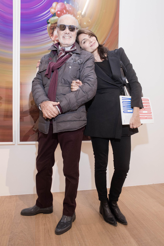 Gino Bogani y Mariana Arias