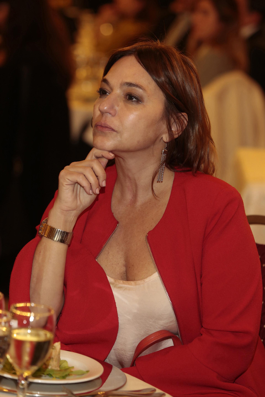 La periodista Lorena Maciel