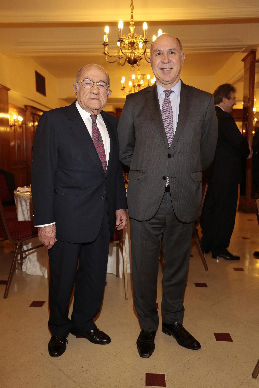 José Romero Feris junto a Lorenzetti