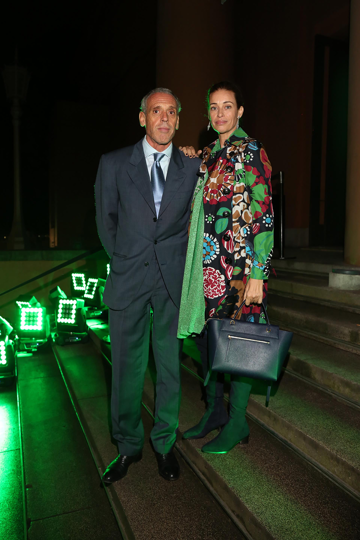 Giorgio y Georgina Alliata