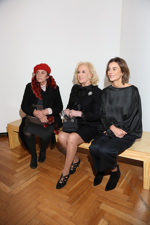 Blanca Isabel Álvarez de Toledo, Mirtha Legrand y Azul García Uriburu