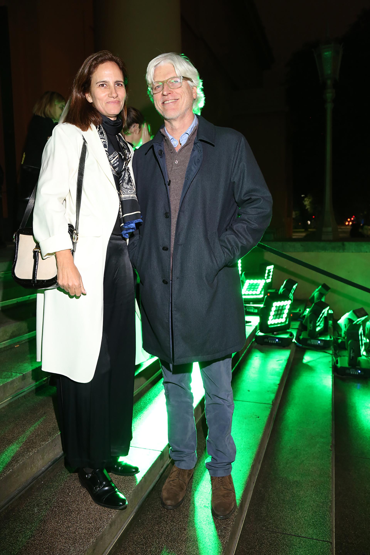 Cecilia Sartorius y Freddy Green