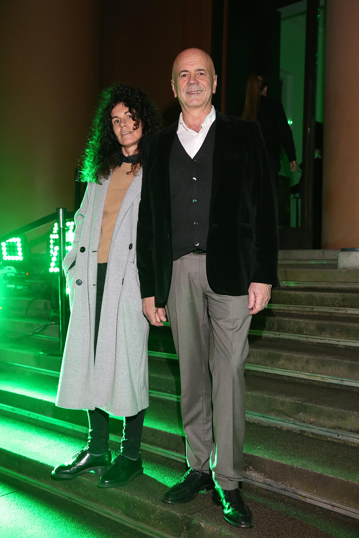 Cynthia Cohen y Jorge Telerman, director del Complejo Teatral de Buenos Aires